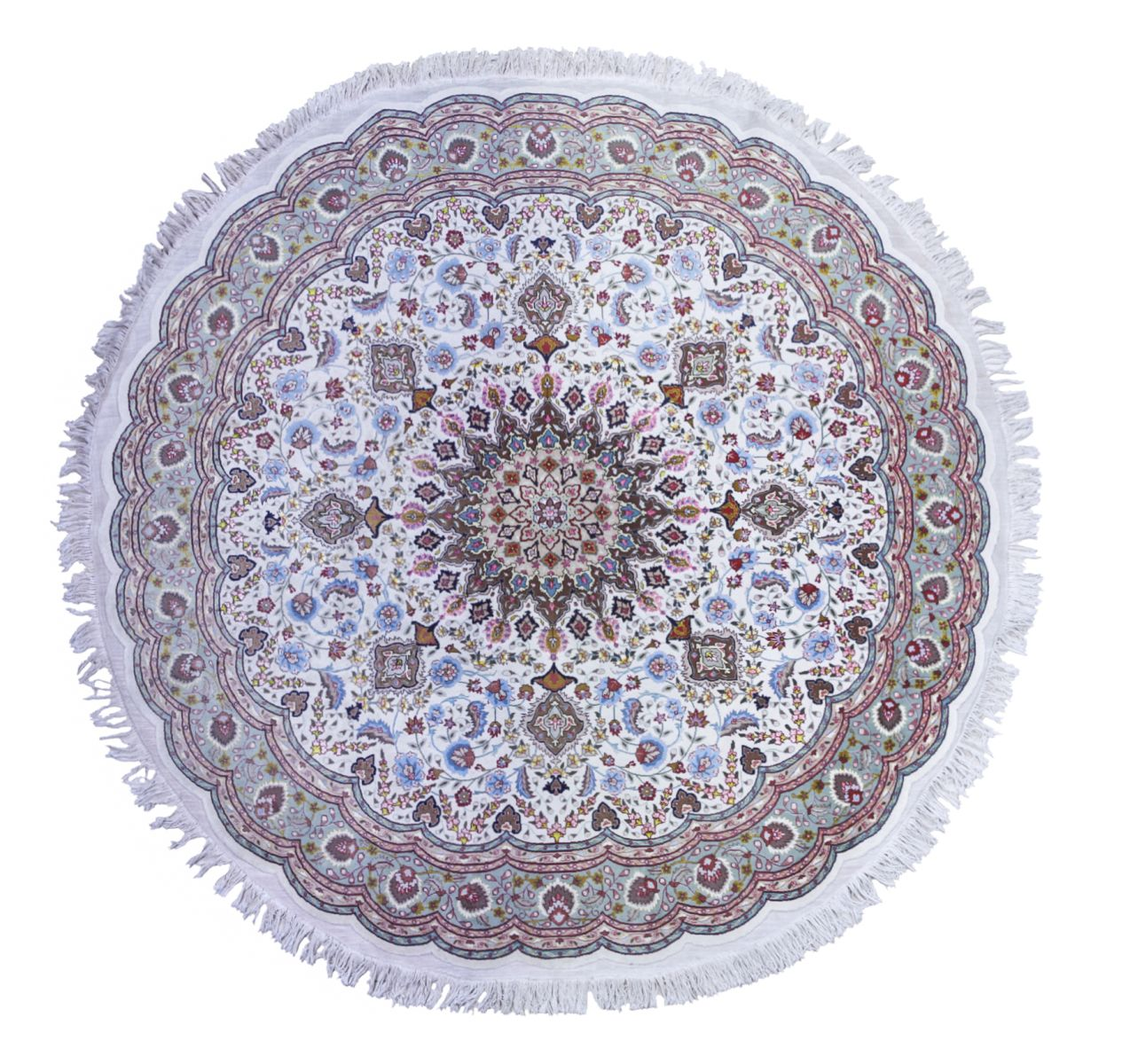 #174 Persian carpet round | Perserteppich Image