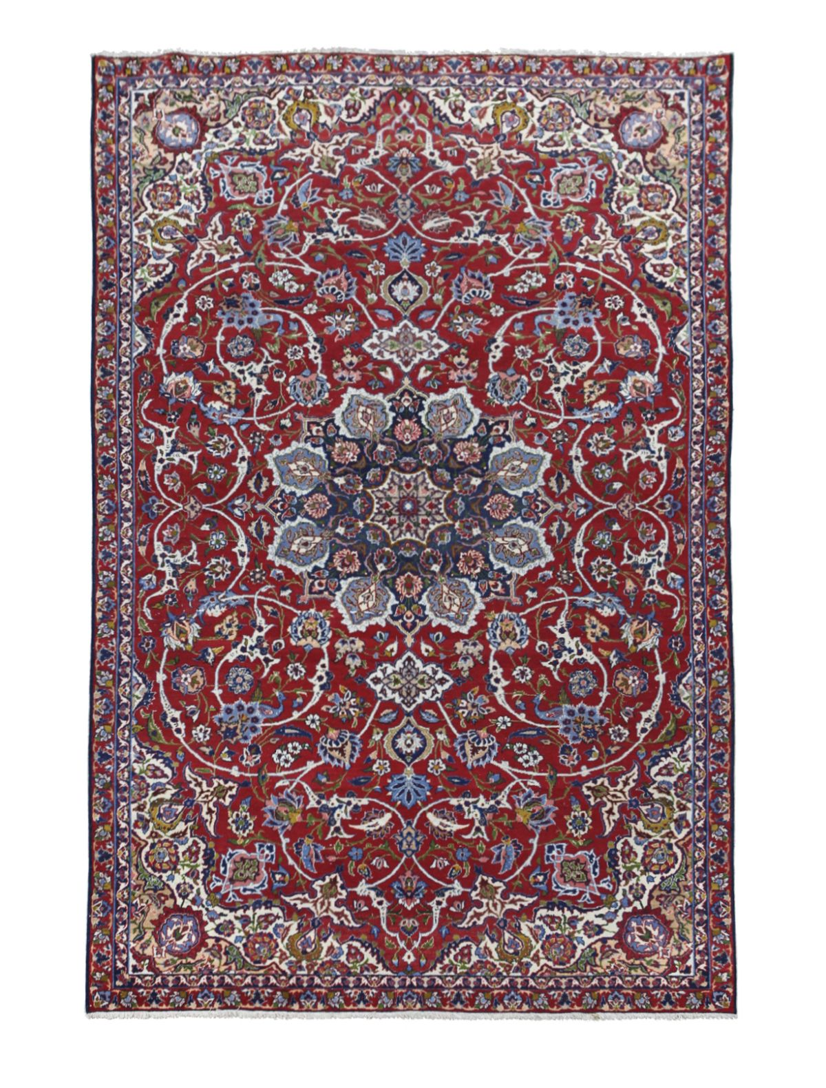 #176 Isfahan wool carpet 1920-1930 | Isfahan Woll-Teppich, 1920-1930 Image