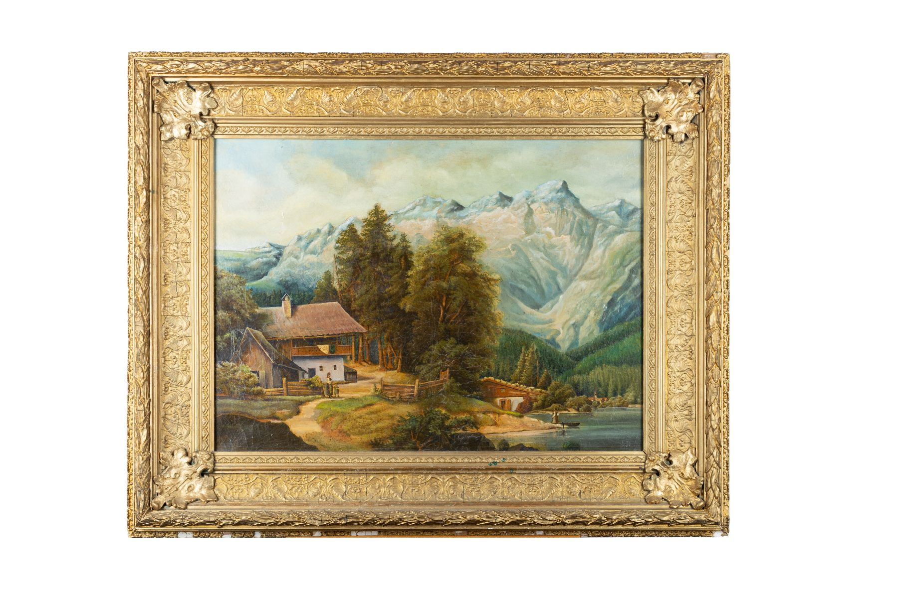 #29 Decorative oil painting |Dekoratives Ölbild Image