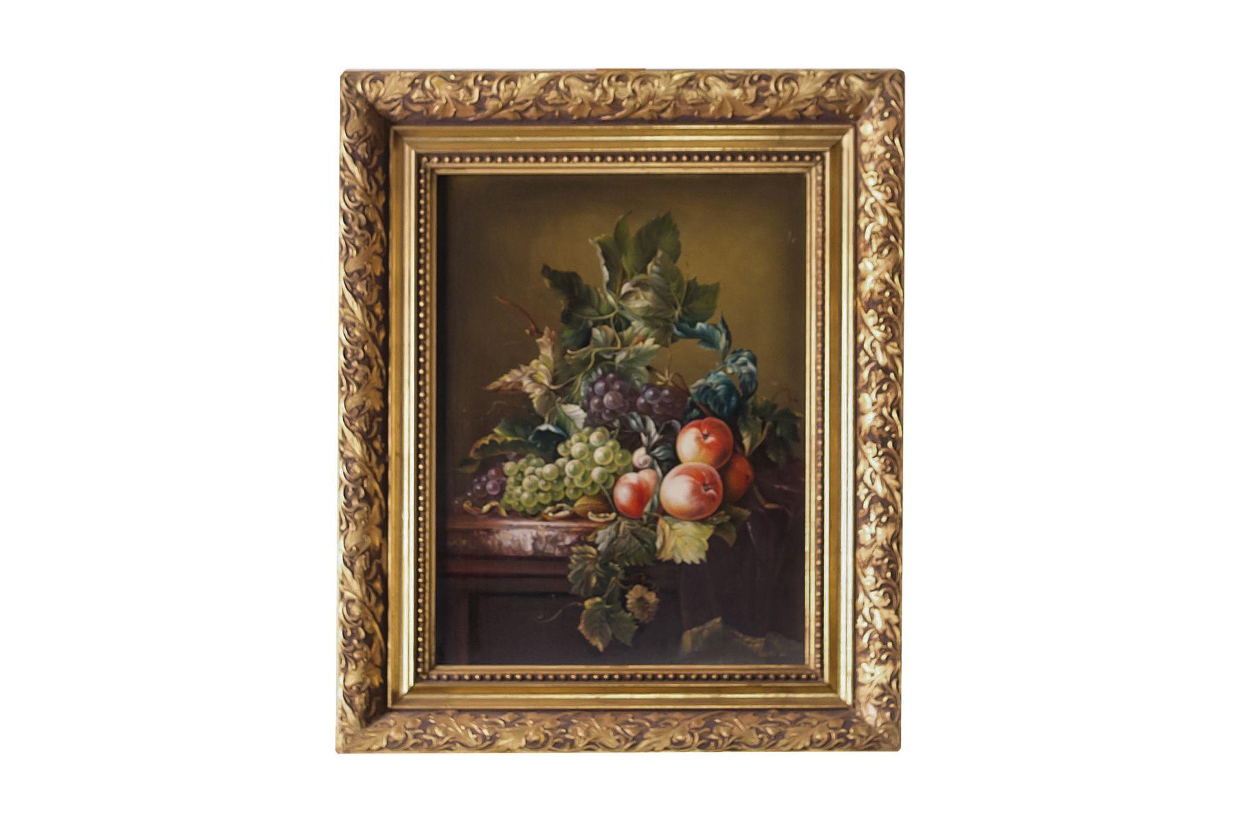 "#4 Gyula Kadas (1959) ""Still Life with Fruit"" | Gyula Kadas ( 1959) ""Stillleben mit Obst"" Image"