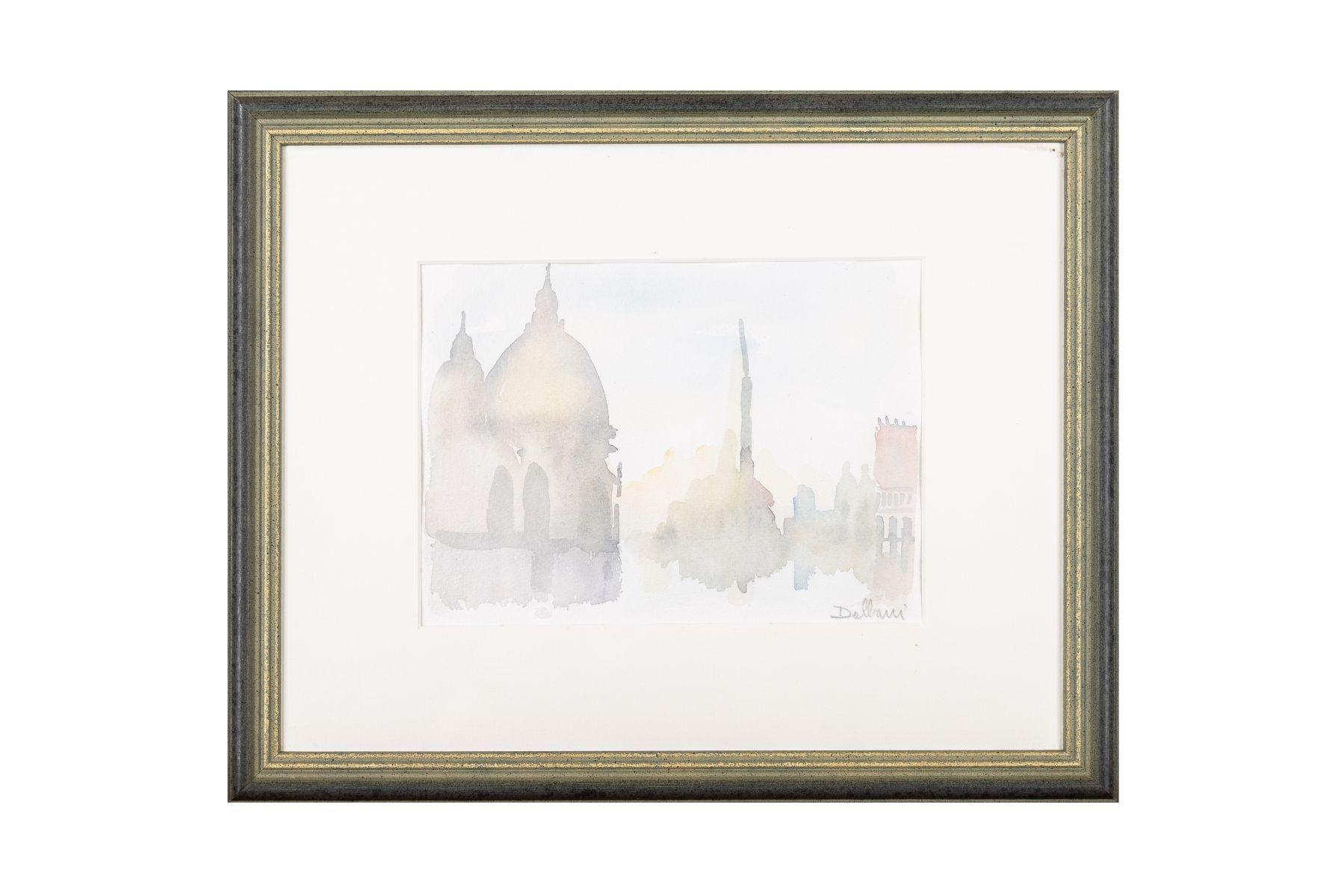 "#42 Attilio Dalbani, ""motif from Venice"" | Attilio Dalbani, ""Motiv aus Venedig"" Image"