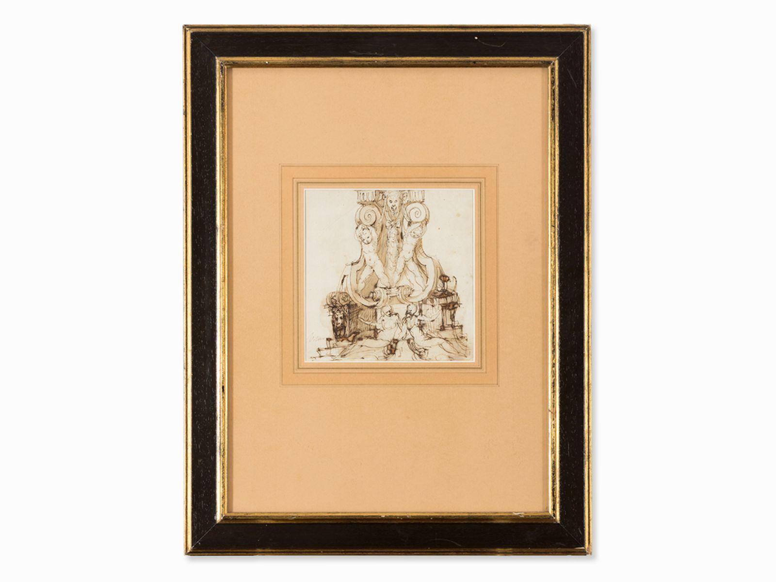 #61 Marco Marchetti (ca.1526-1588), design for a base, 16th century | Marco Marchetti (ca.1526-1588), Entwurf für eine Basis, 16. Jh. Image
