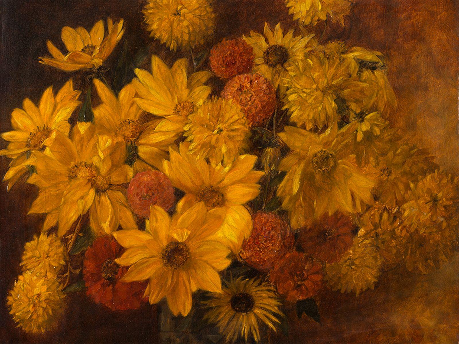 #62 Marcel Kammerer (1878-1959), flower still life, painting, 1925 | Marcel Kammerer (1878-1959), Blumenstillleben, Gemälde, 1925 Image