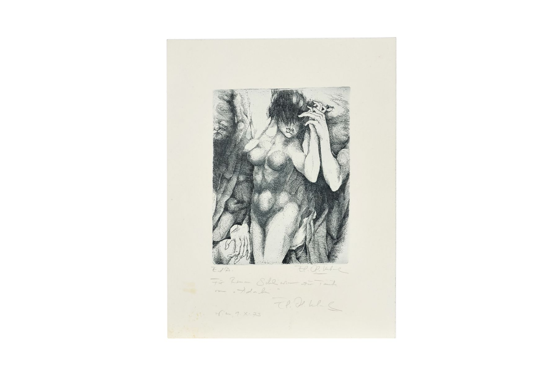 "#85 Artist of the 20 th century ""Untitled"" | Leherb, auch Maître Leherb (* 14. März 1933 in Wien; † 28. Juni 1997 ebenda), ""Ohne Titel"" Image"