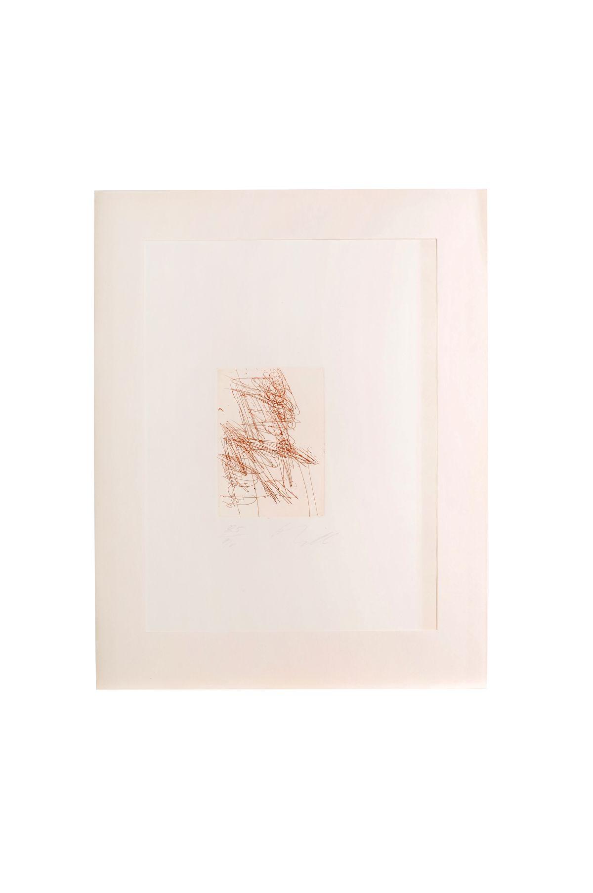 "#86 Josef Mikl ""Untitled"" | Josef Mikl (1929 - 2008)""Ohne Titel"" Image"