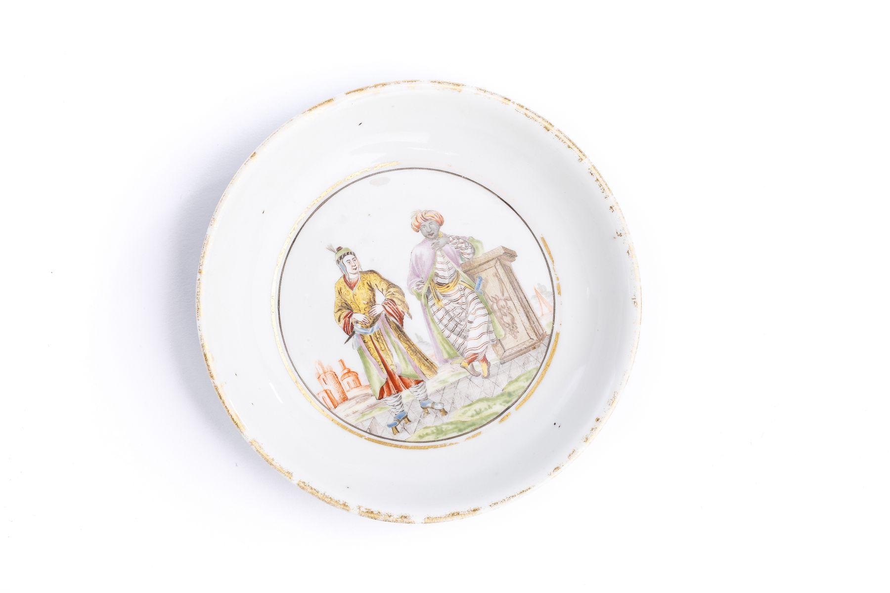 #6 Small saucer, Meissen 1720/25 | Kleine Unterschale, Meissen 1720/25 Image