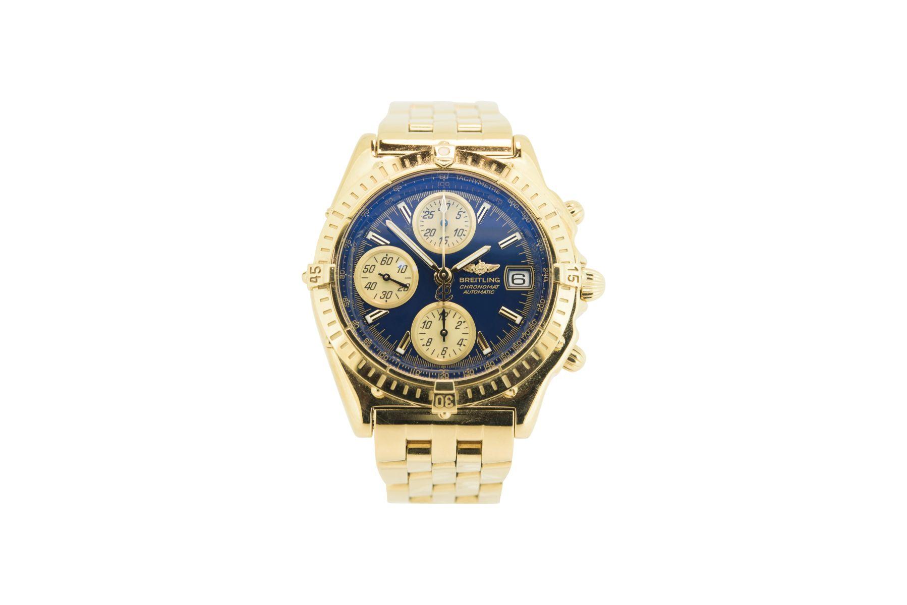 #11 Breitling Chronomat Massiv Gold 18 Kt | Breitling Chronomat Massiv Gold 18 Kt Image
