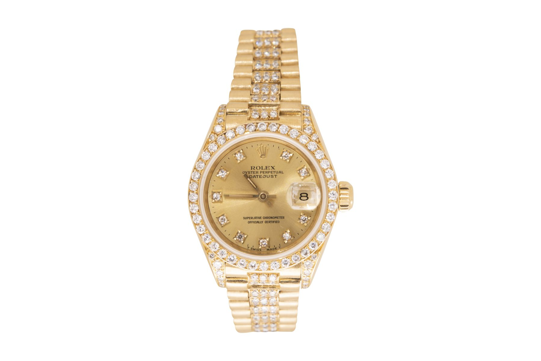 #111 Rolex Lady Datejust Diamond Full Set | Rolex Lady Datejust Diamond Full Set Image