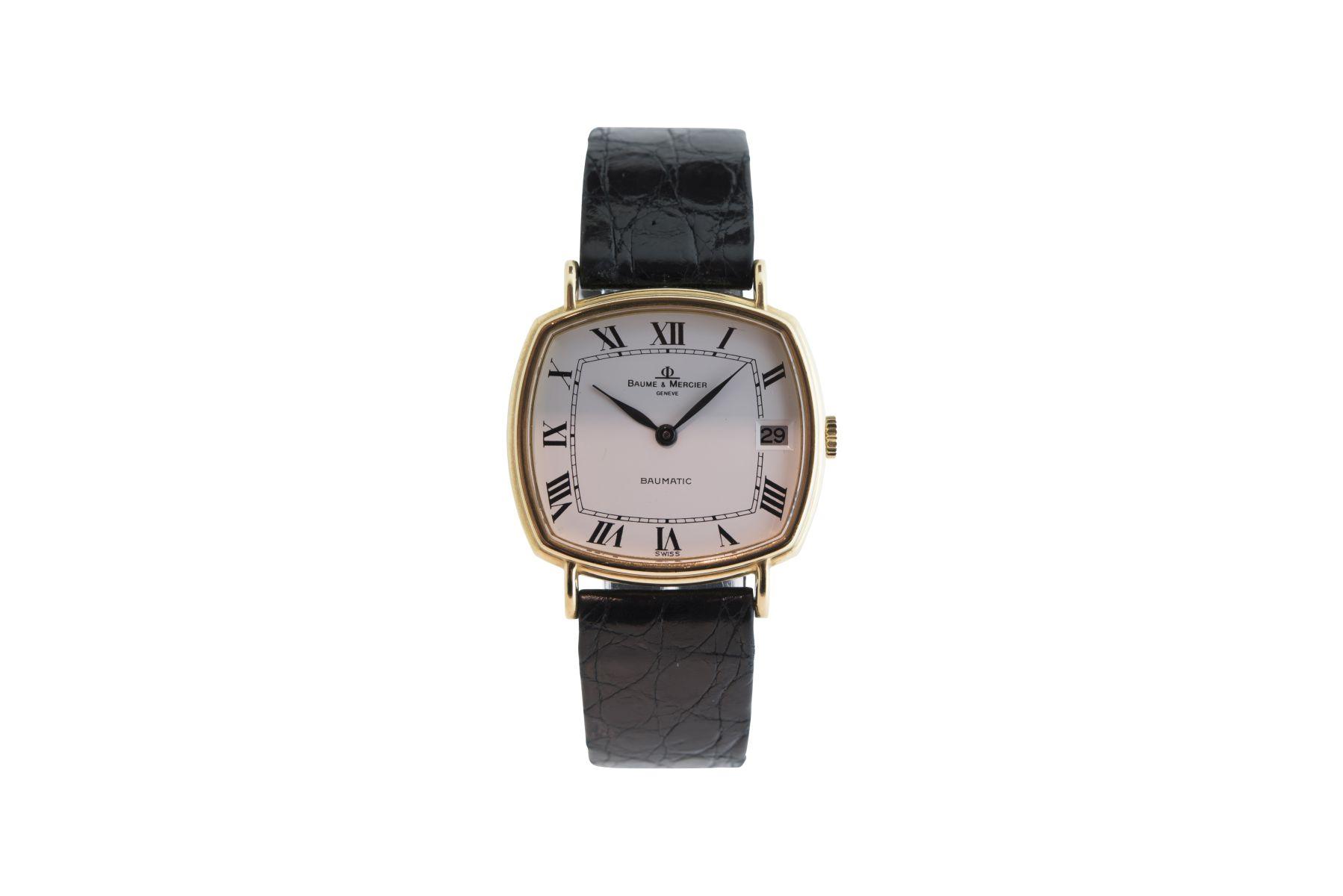 #2 Baume & Mercier gold watch automatic | Baume & Mercier Golduhr Automatik Image
