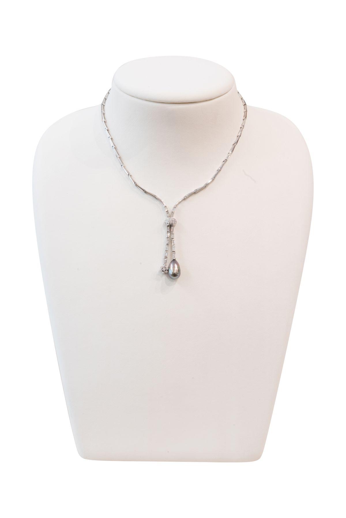#207 Diamond Necklace | Collier Image
