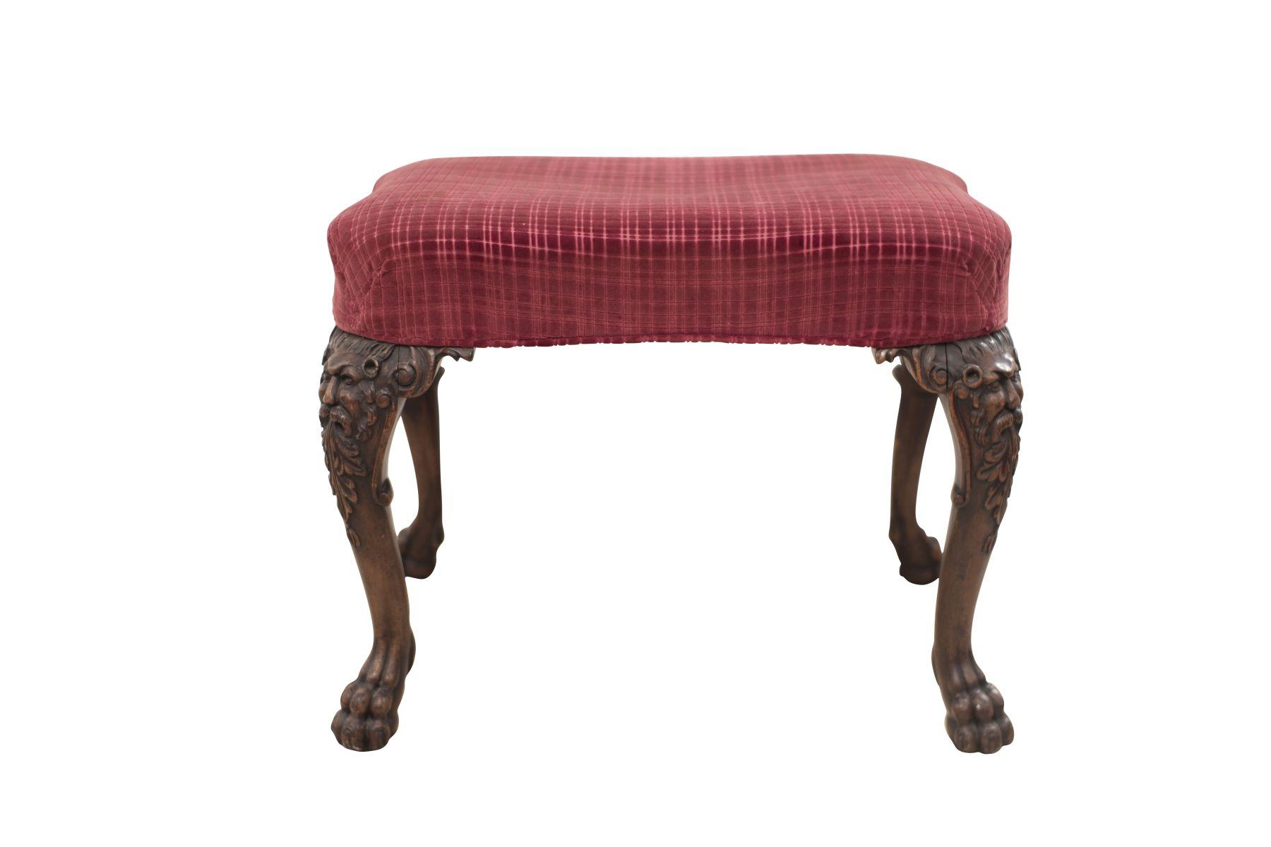 #104 Piano stool second half of the 19th century | Klavierhocker 2. Hälfte des 19. Jahrhundert Image