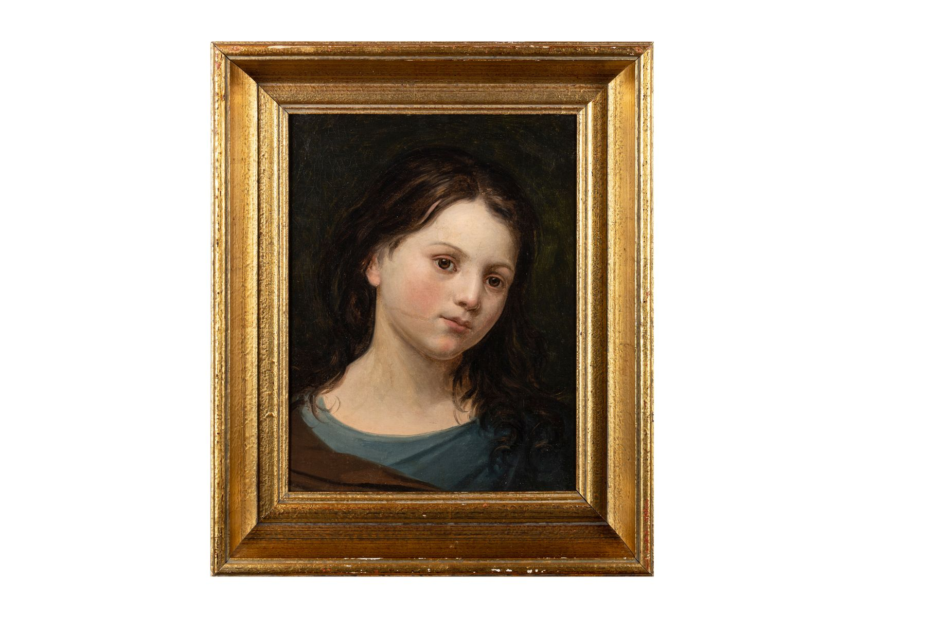 "#116 Peter Fendi Circle, ""Girl Portrait"" | Peter Fendi (1796-1842) Umkreis, ""Mädchenporträt"" Image"