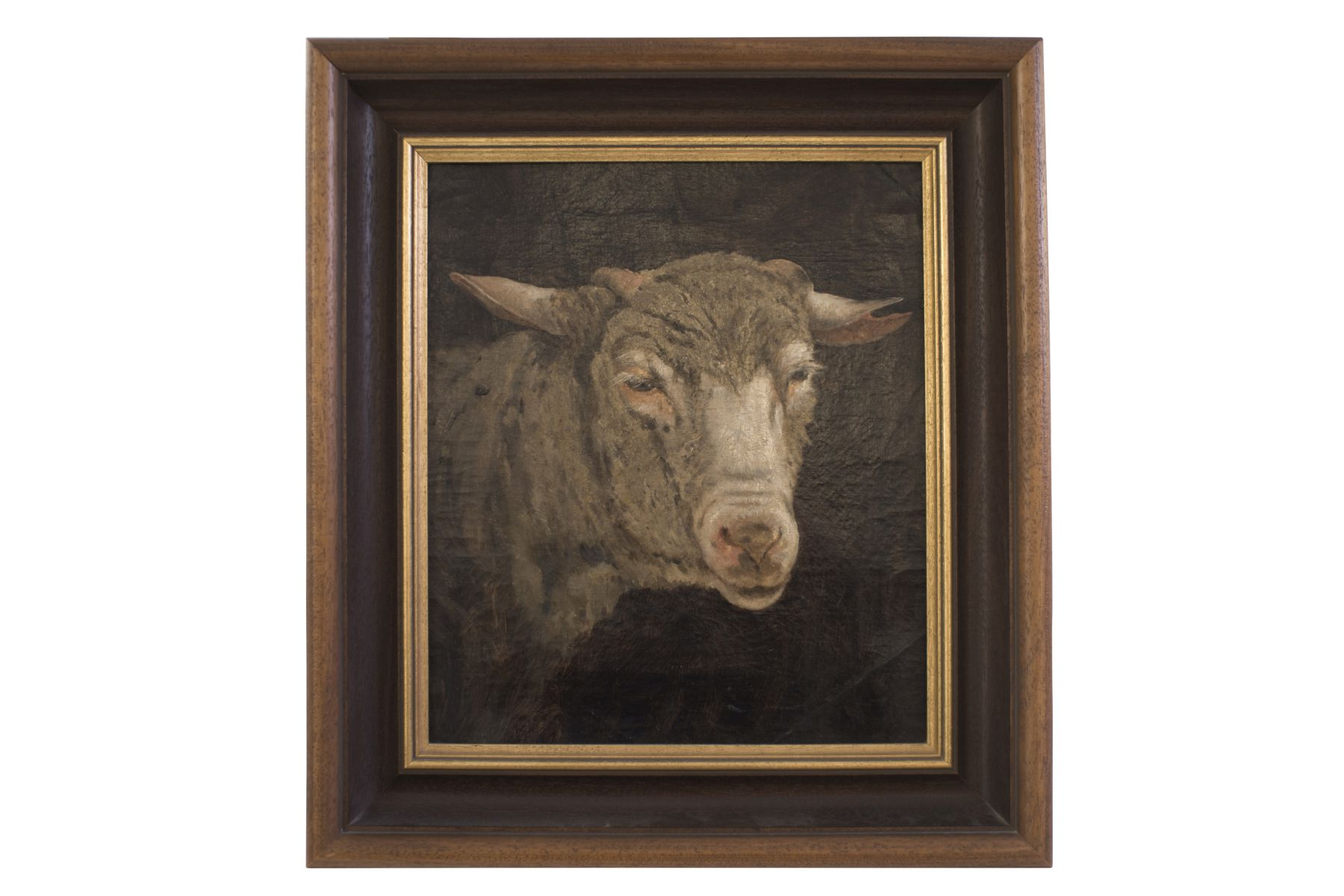 "#13 Painter end of the 19th century ""Sheep"