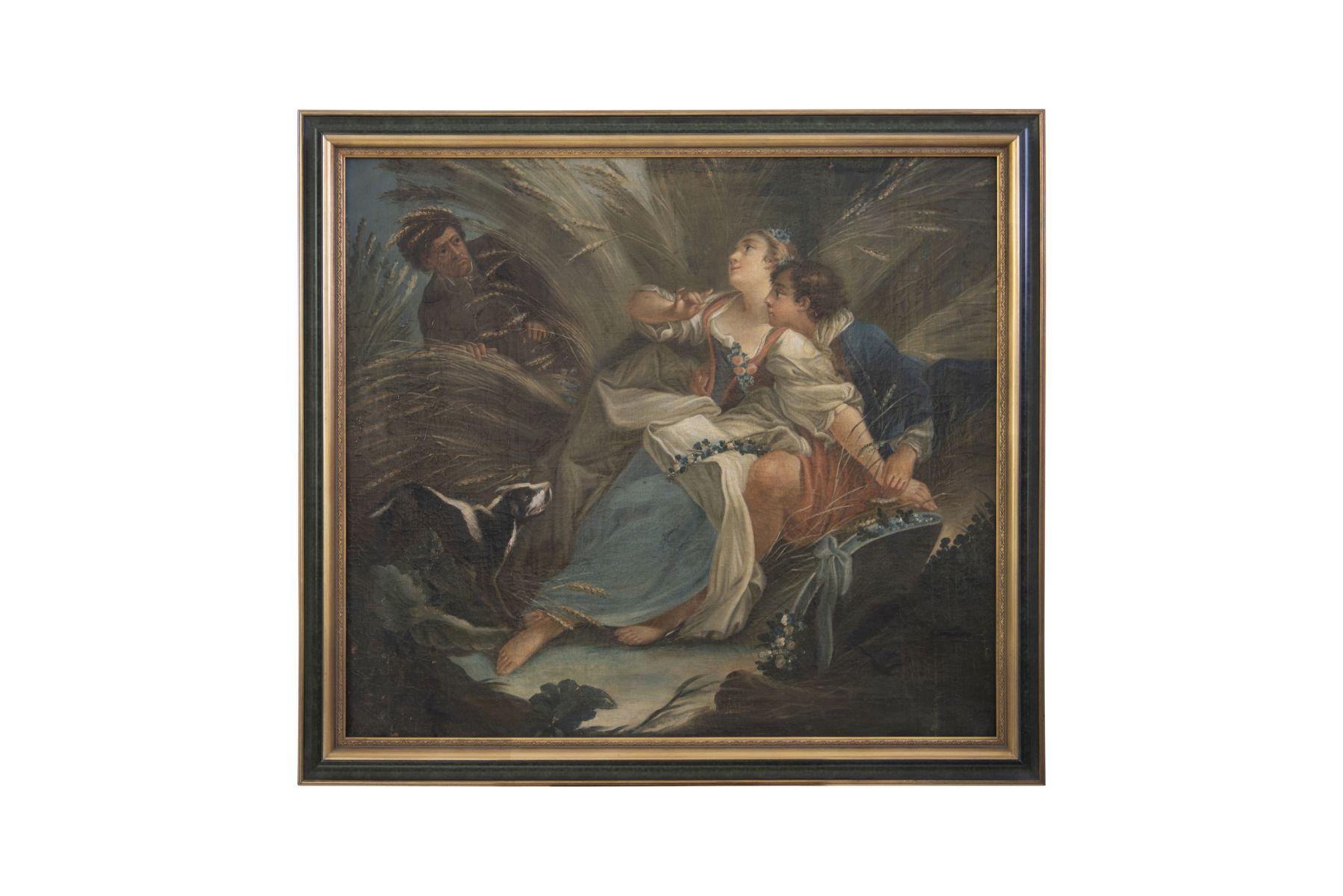 "#23 France 18th century ""Caught lovers"" | Frankreich 18. Jahrhundert ""Ertapptes Liebespaar"" Image"