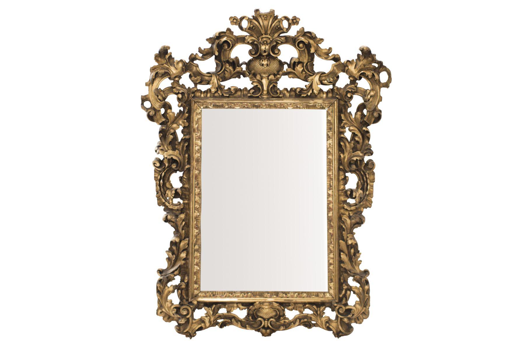 #59 Baroque style salon mirror, 19th century | Barockstil Salonspiegel, 19. Jahrhundert Image