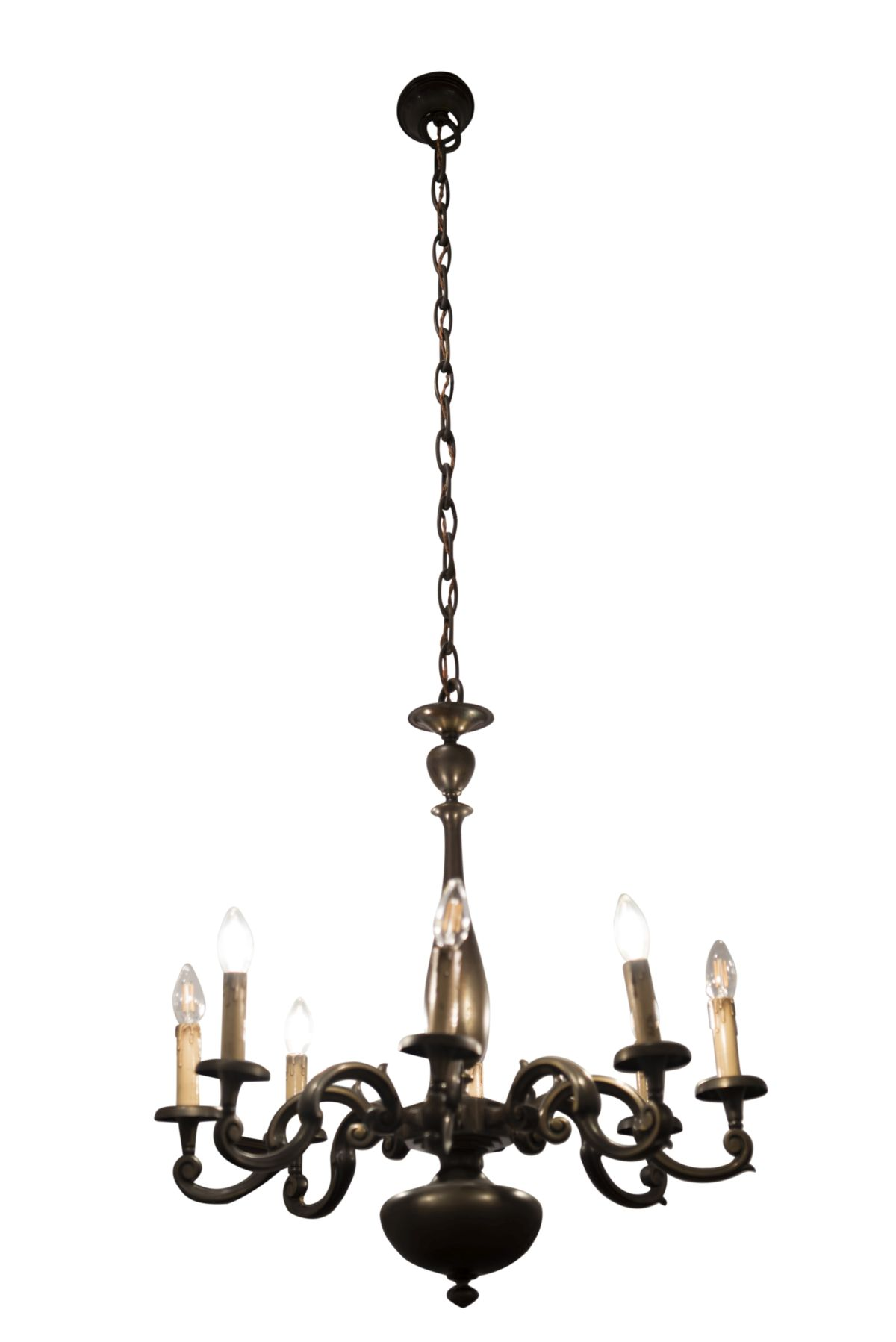 #61 Salon chandelier and two wall appliques | Salon Luster und 2 Wandappliken Image
