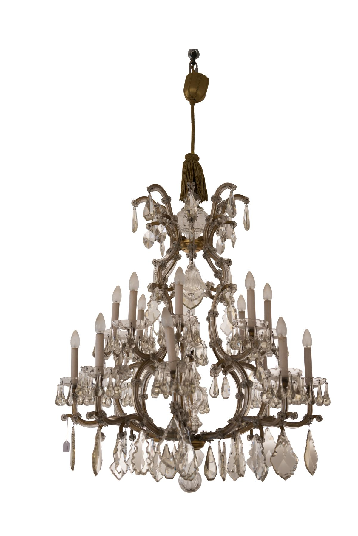 "#65 Decorative Salon Chandelier ""Maria Theresa Style"" 