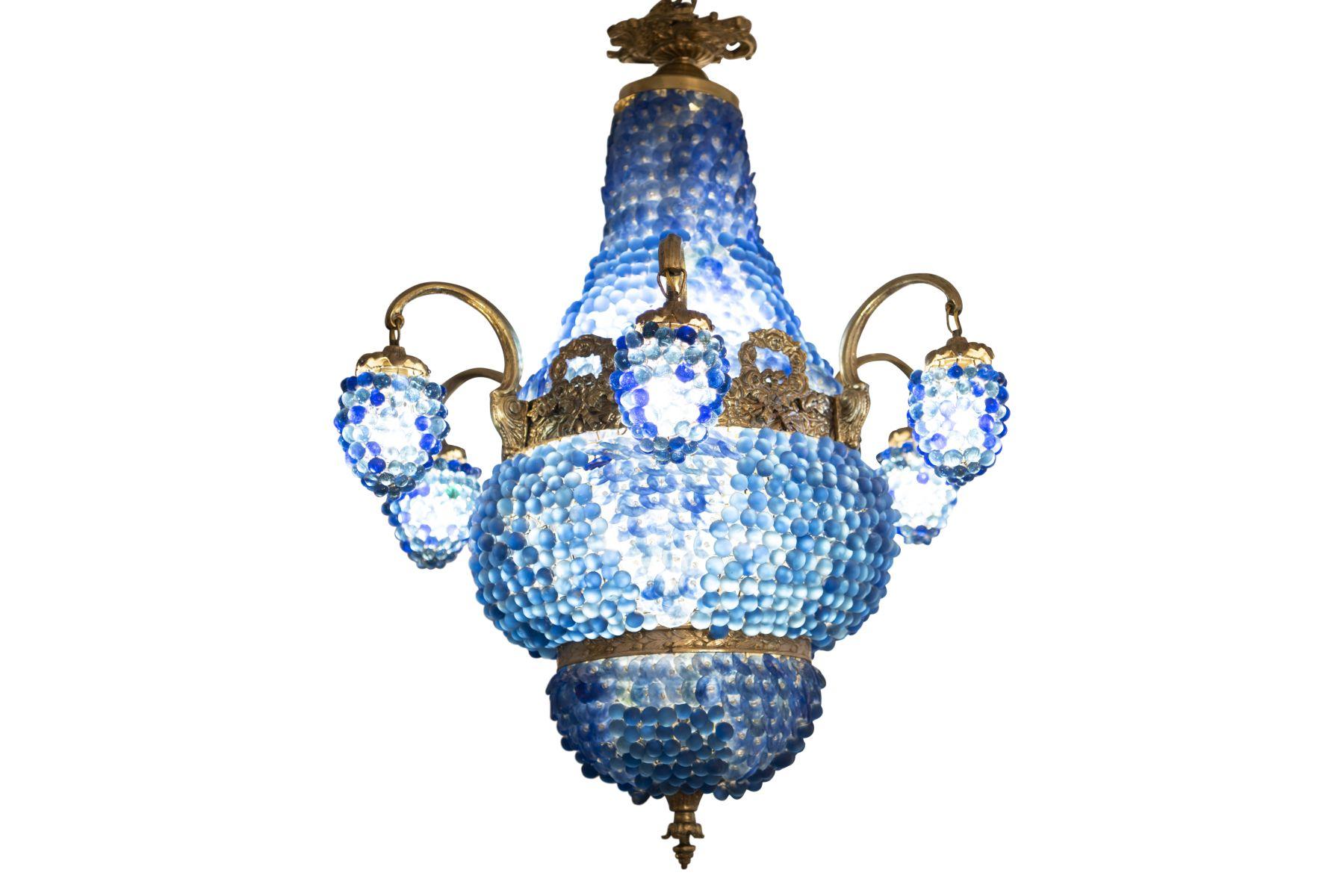 #67 Italian Decorative Salon Chandelier | Italienische dekorativer Salon Luster Image