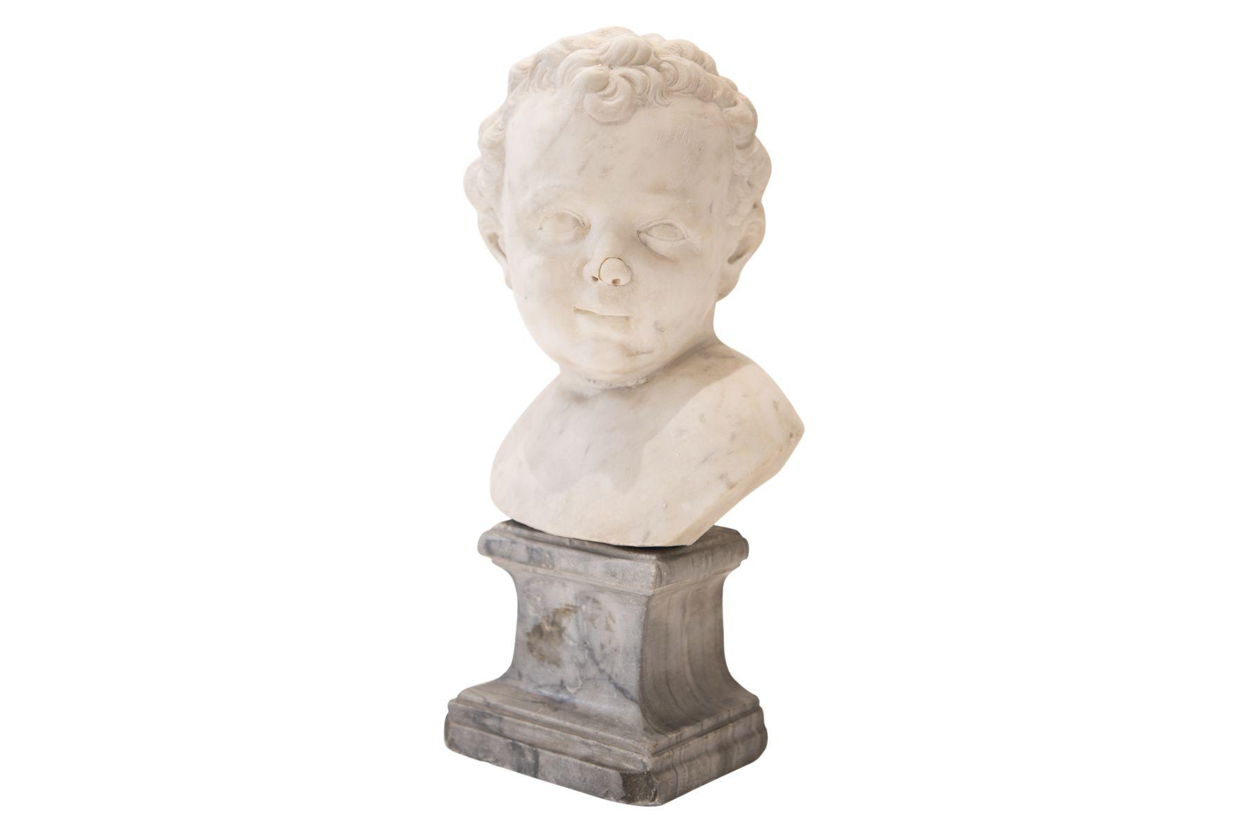 #70 Small child bust of a boy | Kleine Kinderbüste eines Jungen Image