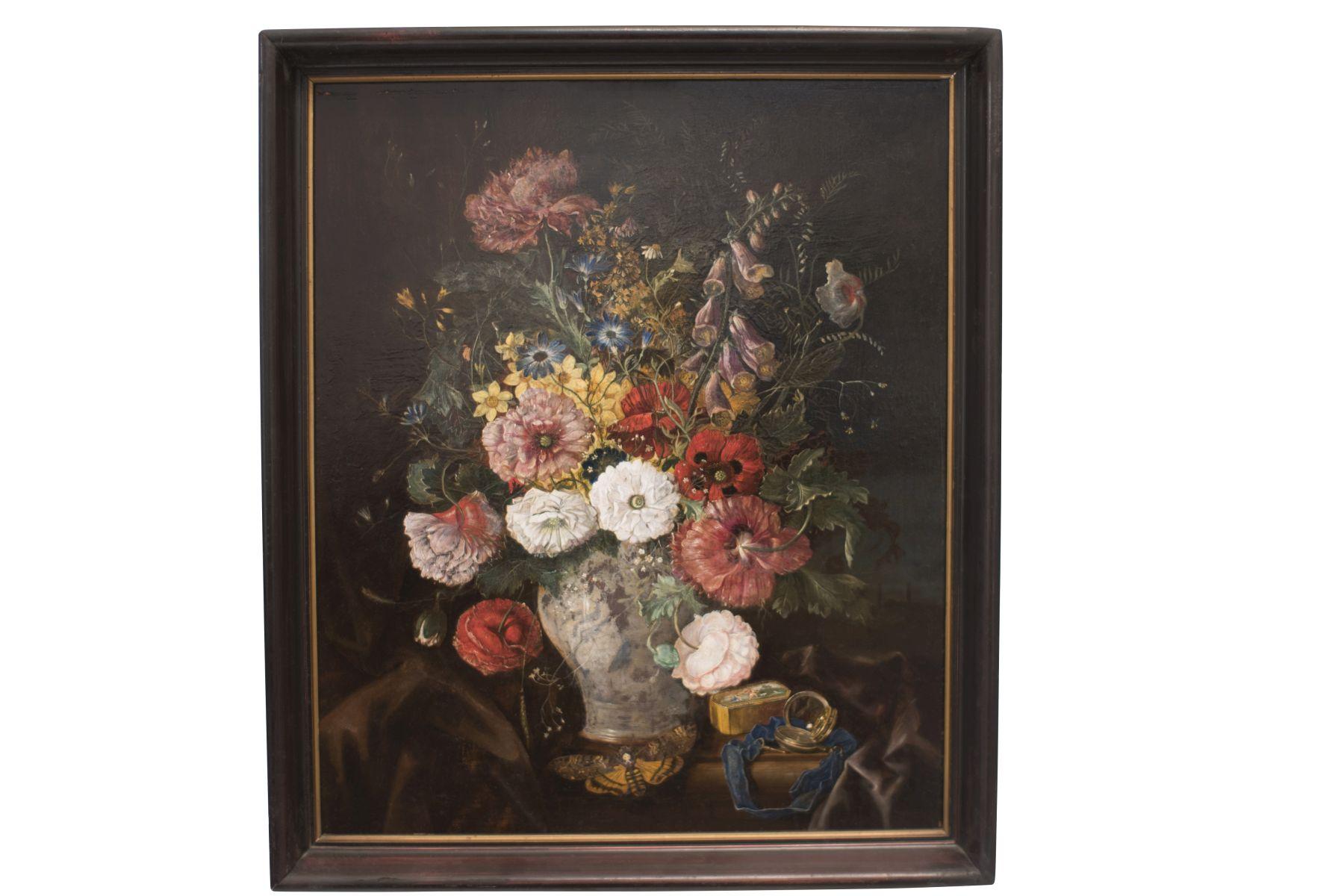 "#84 Painter of the 20th Century ""Flower Still Life"" | Maler des 20. Jahrhundert ""Blumenstillleben"" Image"