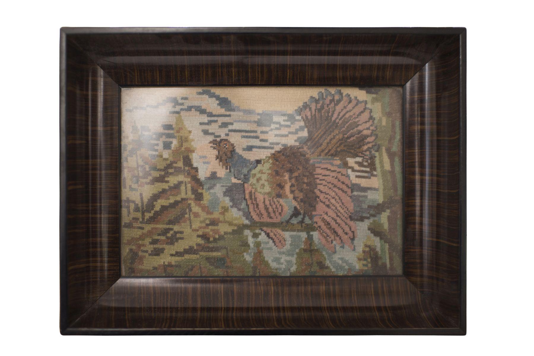 "#87 Austrian Artist 20th Century "" Gobelin in Frame"" | Künstler Österreich 20. Jahrhundert ""Gobelin in Rahmen"" Image"