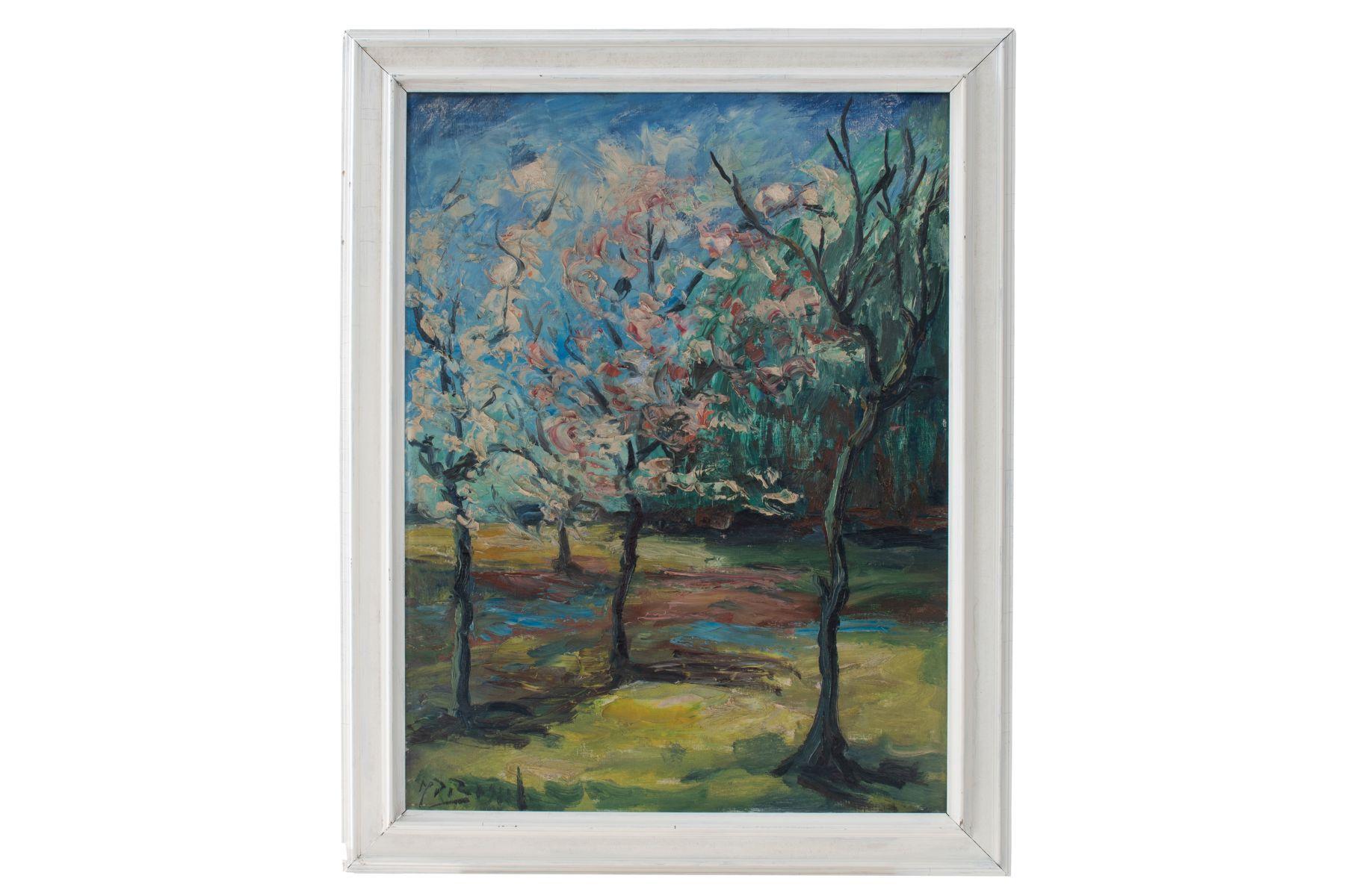 "#101 Rudolf Raimund Ballabene (1890-1968) ""Flowering fruit trees"" | Rudolf Raimund Ballabene (1890-1968) ""Blühende Obstbäume"" Image"