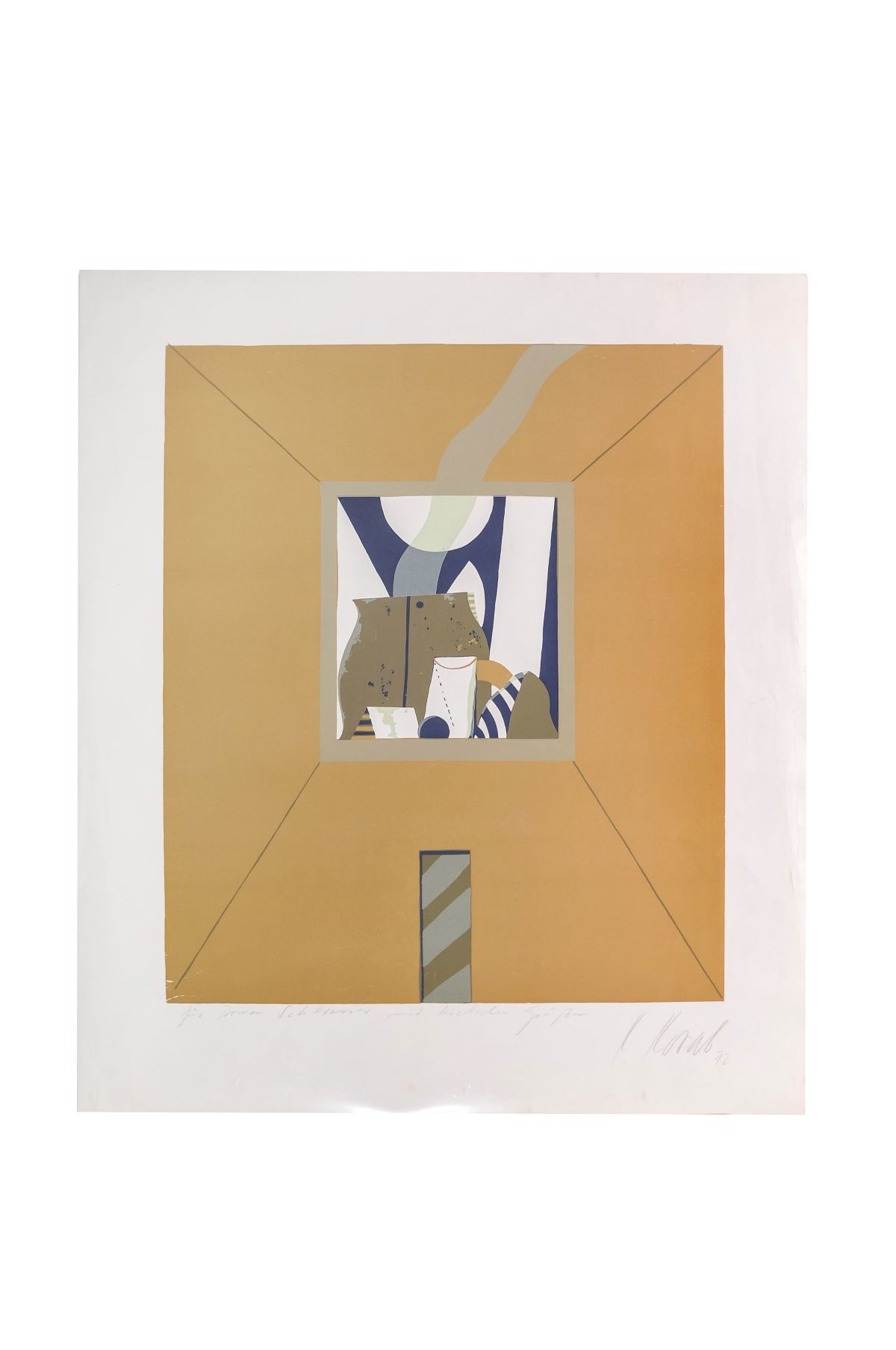 "#12 Karl Korab (1937) ""Abstract Composition"" 
