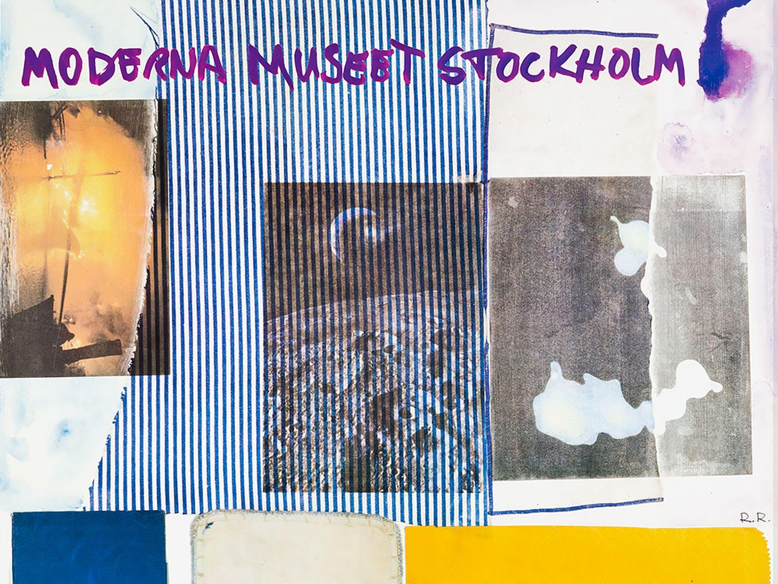 """#138 After Robert Rauschenberg, Poster, Palais des Beaux-Arts, 1981   Nach Robert Rauschenberg (1925-2008) """"Plakat, Palais des Beaux-Arts"""" 1981 Image"""