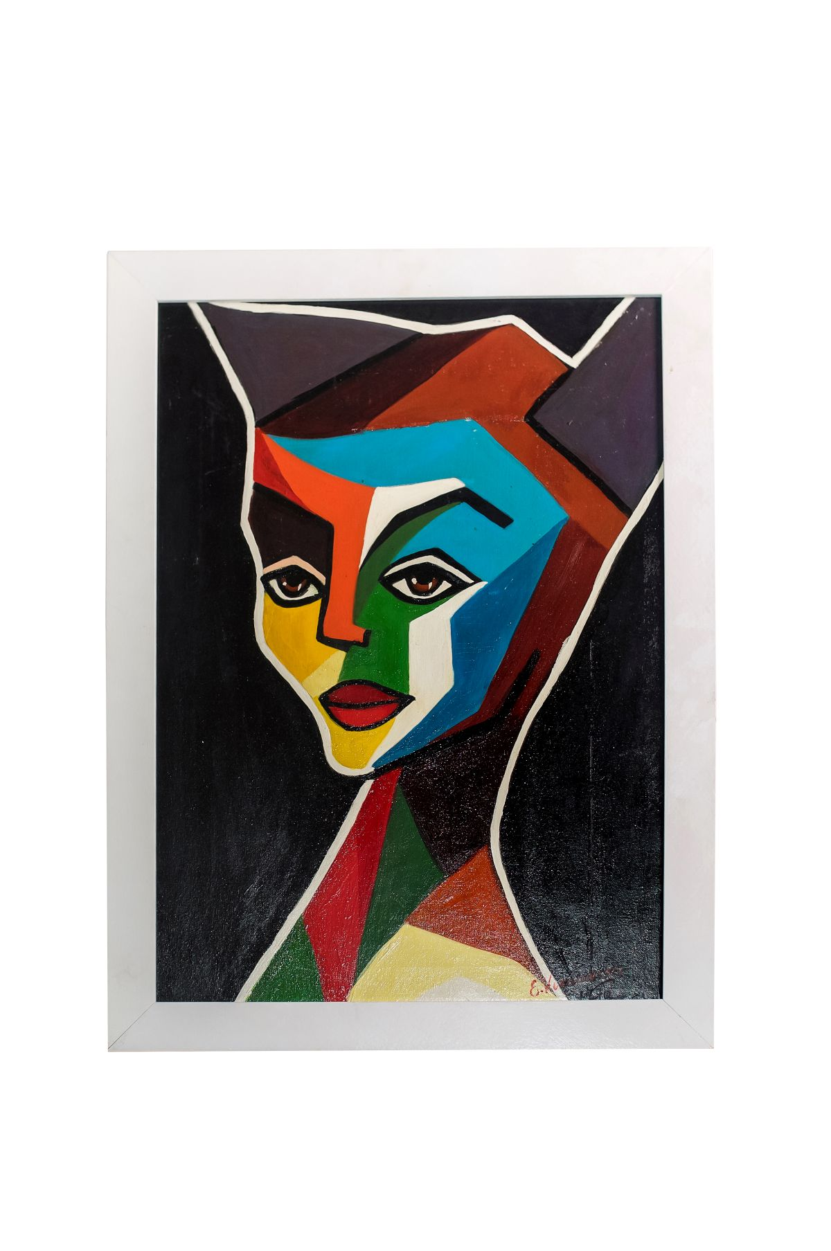 "#149 Erika Kornmesser ""Self Portrait ""1971 | Erika Kornmesser (1934) ""Selbstporträt"" 1971 Image"