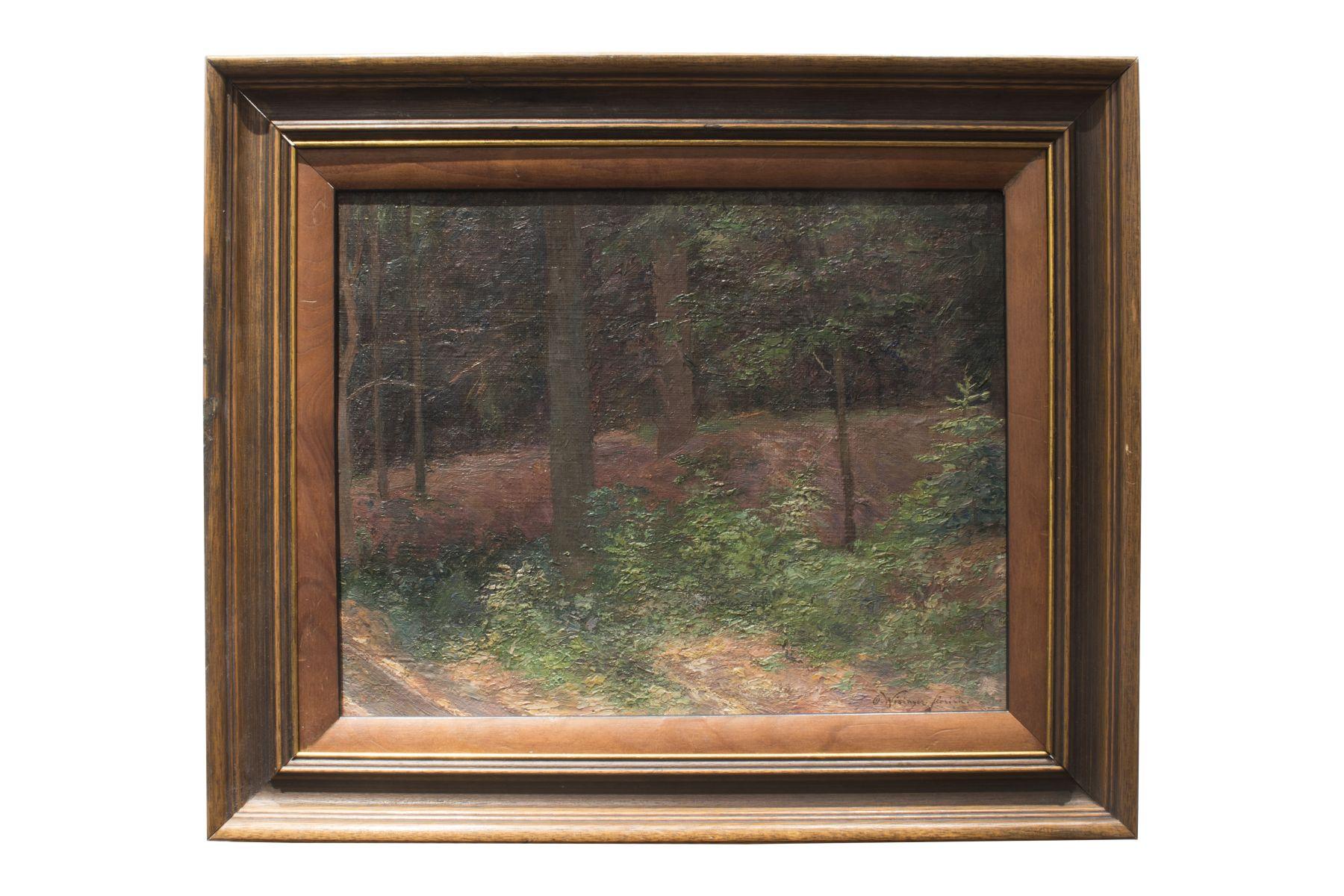 "#153 Olga Wisinger-Florian (1844-1926) ""Clearing in the Woods"" | Olga Wisinger-Florian (1844-1926) ""Waldlichtung"" Image"
