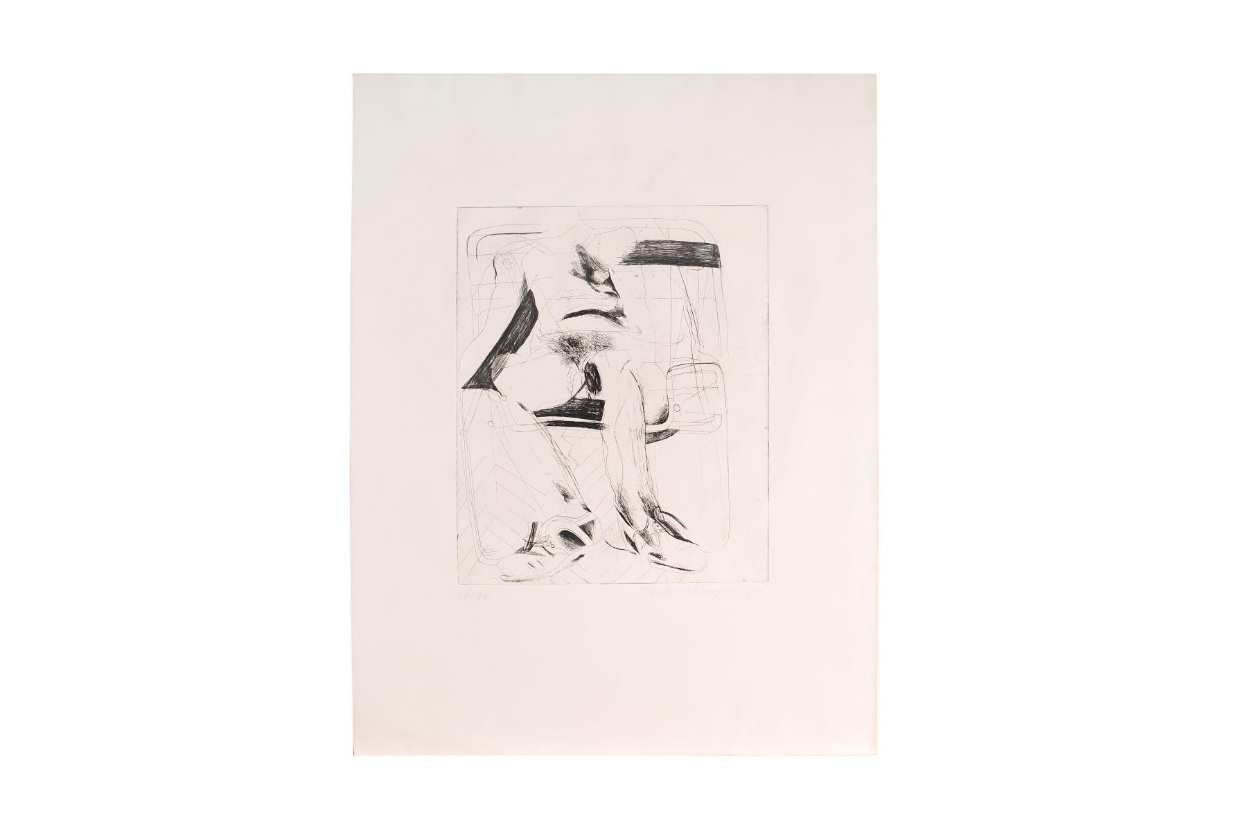 "#17 Artists of the 20th century ""Abstract Composition"" 