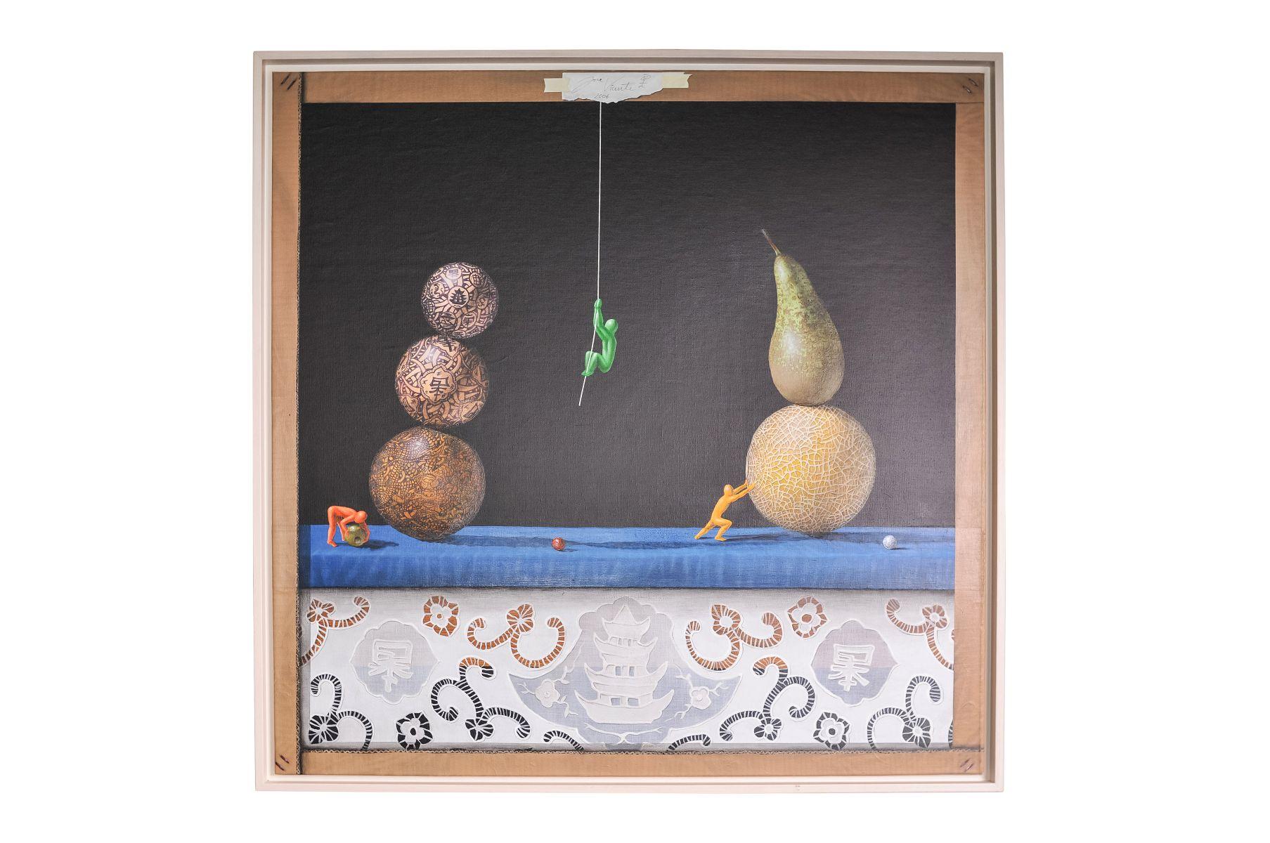 """#28 Jose Vicente (1977) """"Unstable equilibrium in still life""""   Jose Vicente (1977) """"Labiles Gleichgewicht im Stillleben"""" Image"""