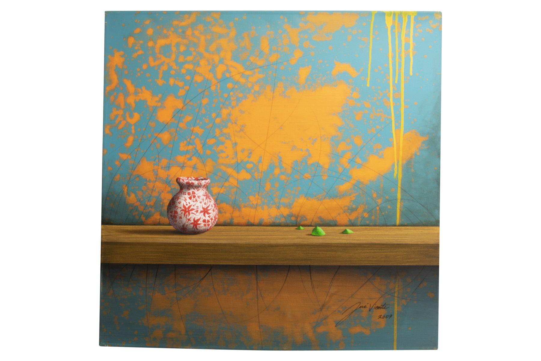 """#31 Jose Vicente (1977) """"Modern still life with vases"""", 2008   Jose Vicente (1977) """"Modernes Stillleben mit Vasen"""", 2008 Image"""