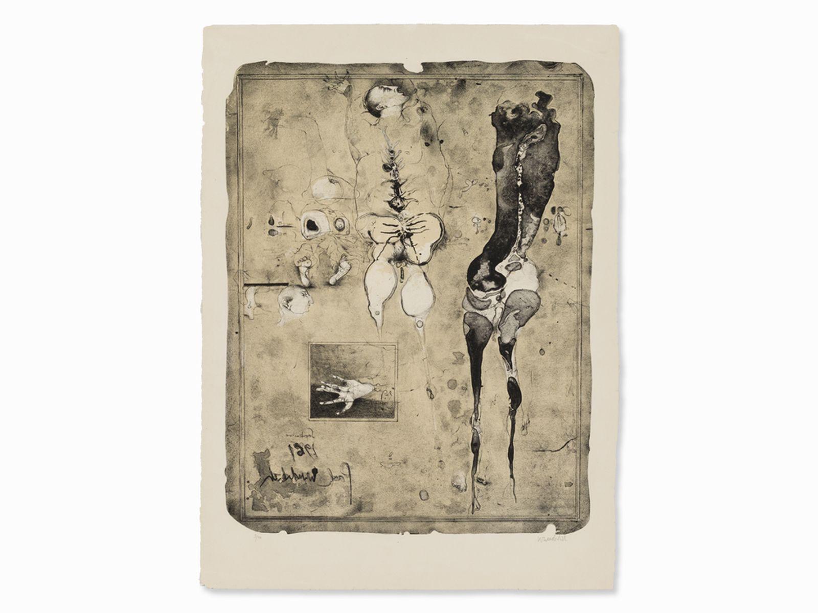 """#38 Paul Wunderlich  """"Anatomies 61"""" 1961   Paul Wunderlich (*1927-2010), """"Anatomie 61"""" 1961 Image"""