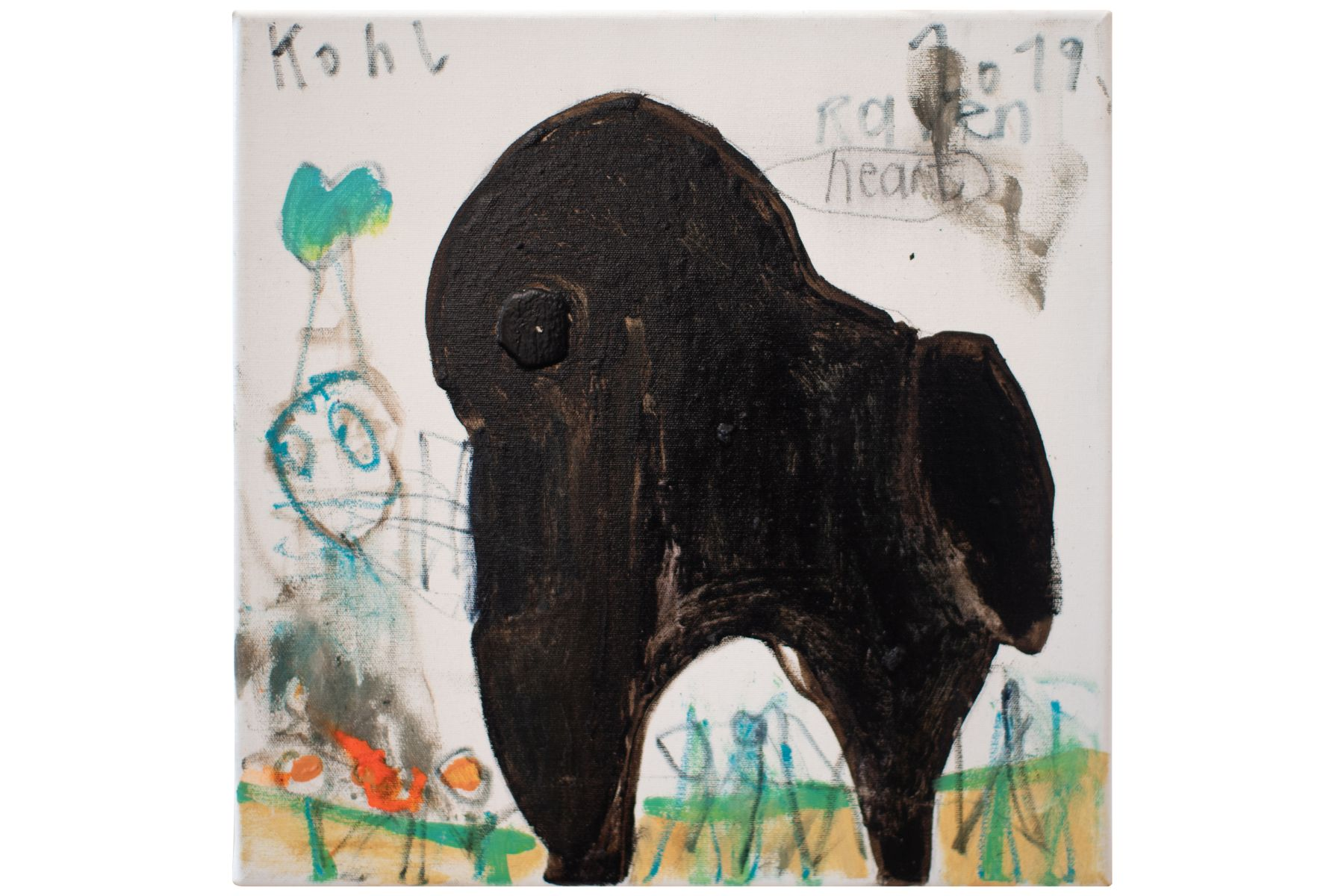 "#49 Peter Kohl (1971) ""Raven heart"" | Peter Kohl (1971) ""Raben heart"" Image"