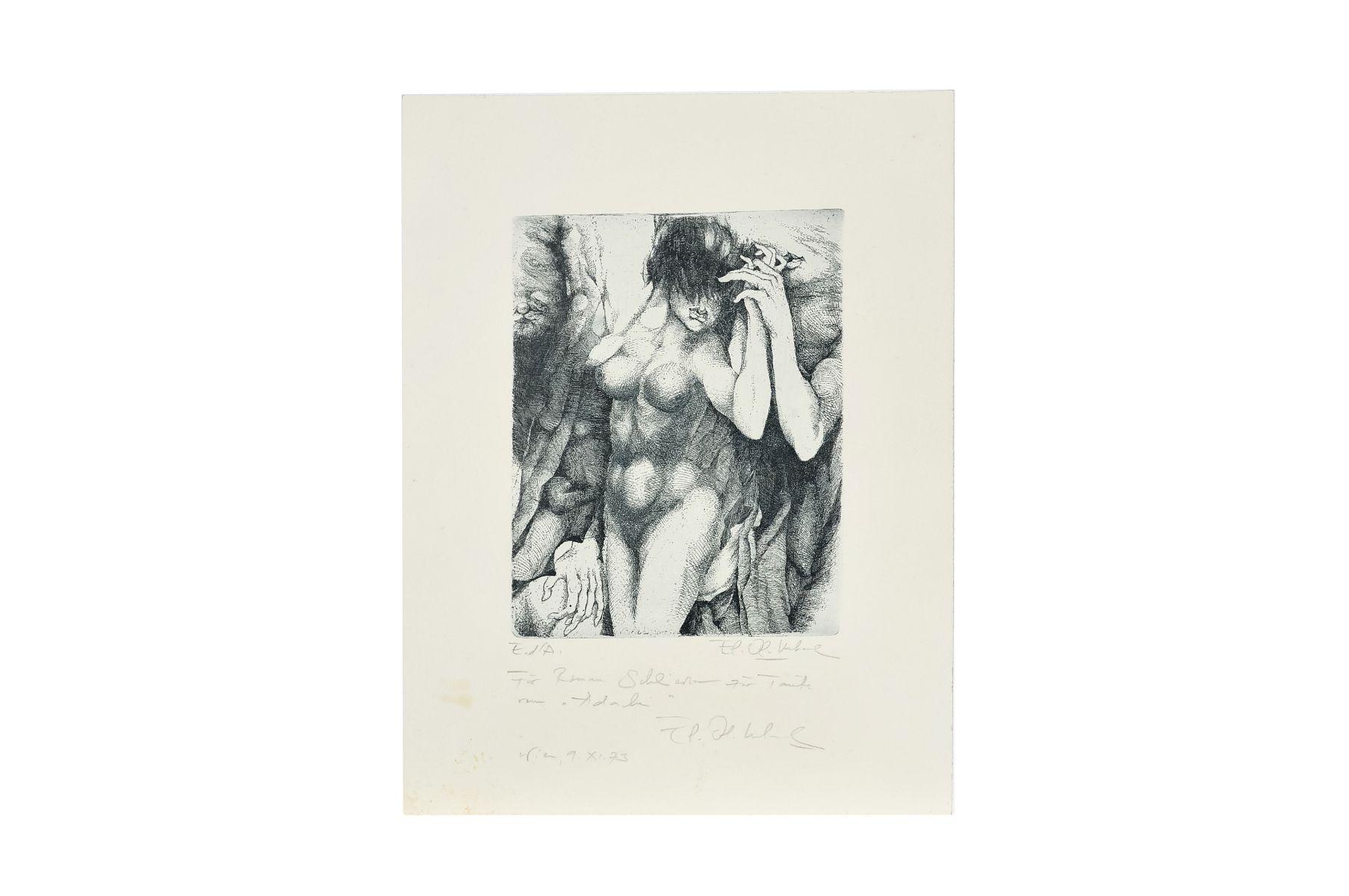 "#6 Leherb, also Maître Leherb (1933 - 1997) , ""Women nude"" | Leherb, auch Maître Leherb (1933 - 1997)  ""Frauen Akt"" Image"