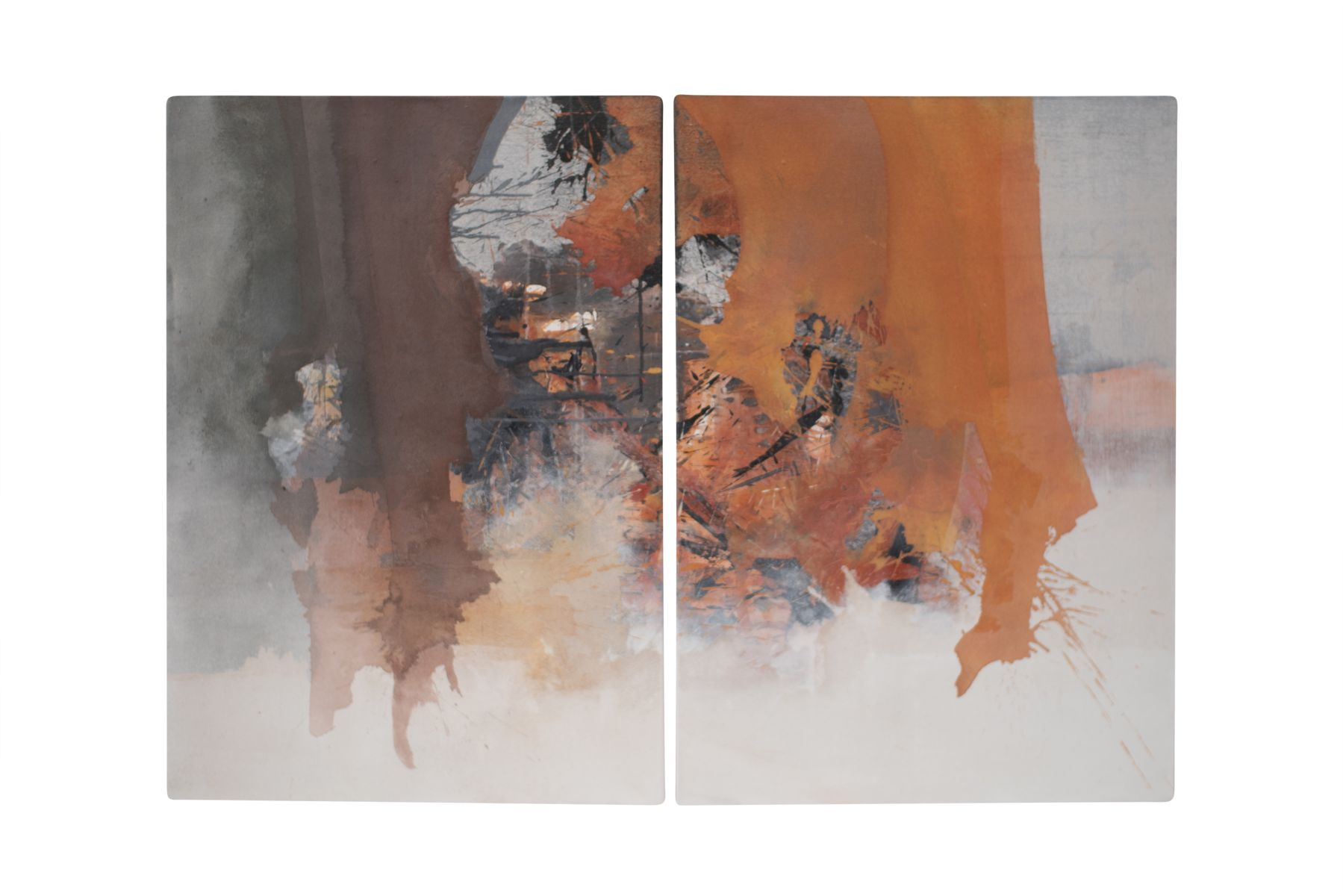 "#60 Roger Gressl (1959) ""Abstract Compositions"" 