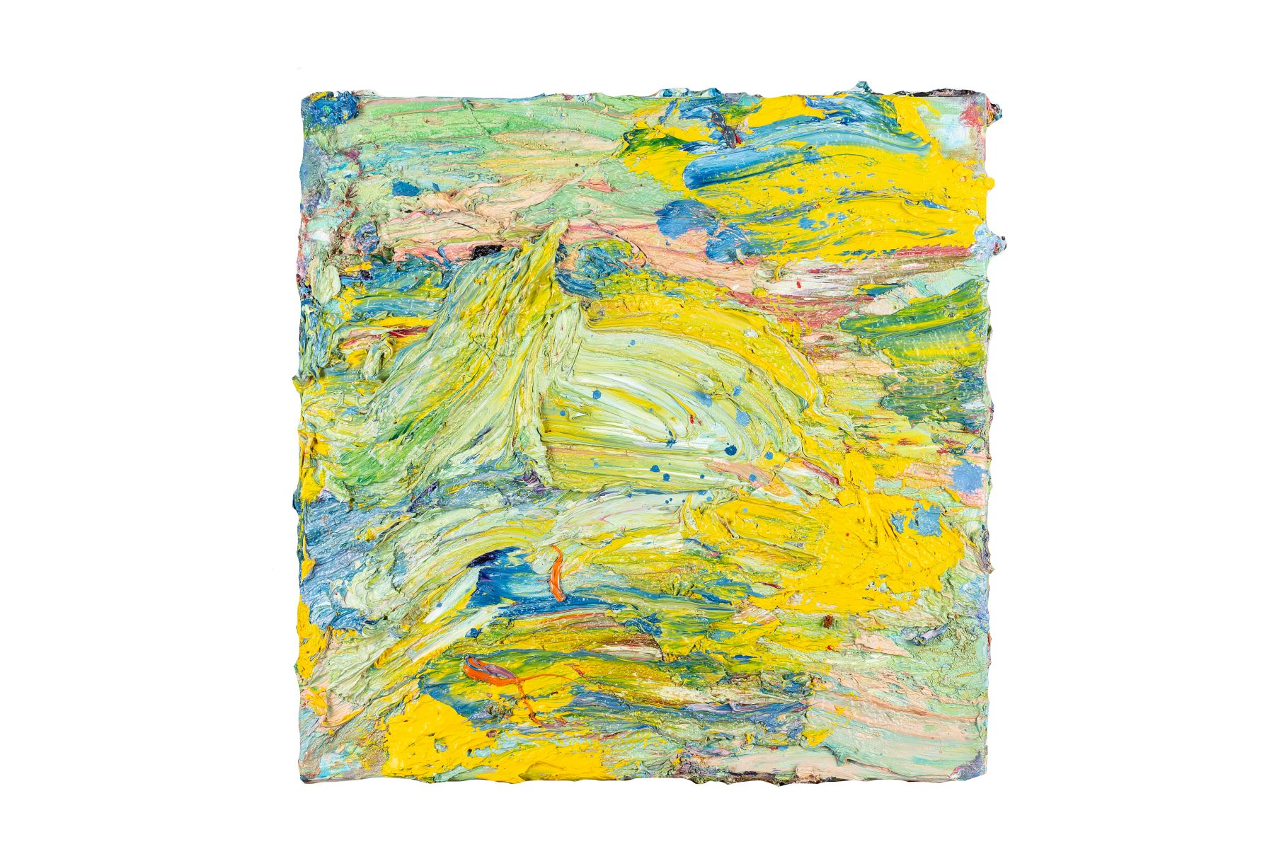 "#64 Nikolaus Moser (1956), ""Small Landscape 22"" | Nikolaus Moser( 1956), ""Kleine Landschaft 22"" Image"