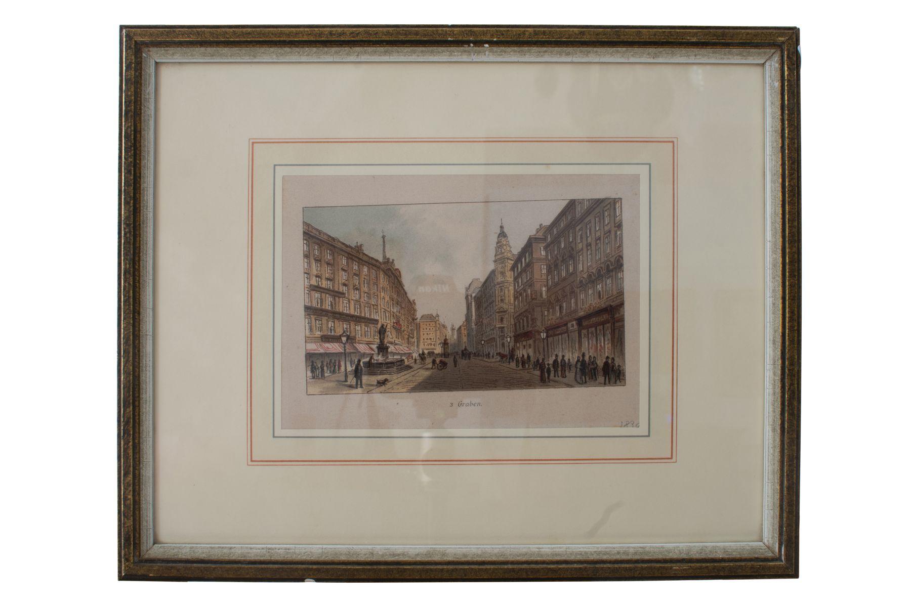 "#76 Johann Varrone (1832-1910) and Eugen Ladislaus Petrovits (1839-1907) ""Graben"" | Johann Varrone (1832-1910) und Eugen Ladislaus Petrovits (1839-1907) ""Graben"" Image"