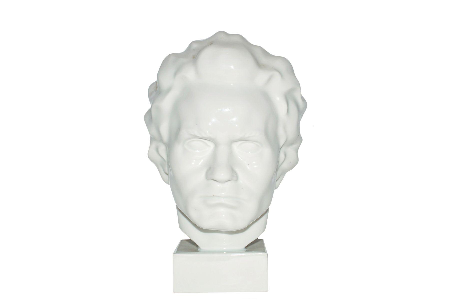 #142 Augarten bust Ludwig van Beethoven | Augarten Büste Ludwig van Beethoven Image