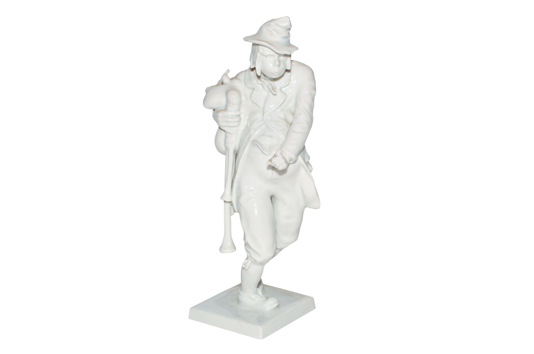 """#154 Figurine """"Dear Augustin"""" Augarten   Figur """"Lieber Augustin"""" Augarten Image"""