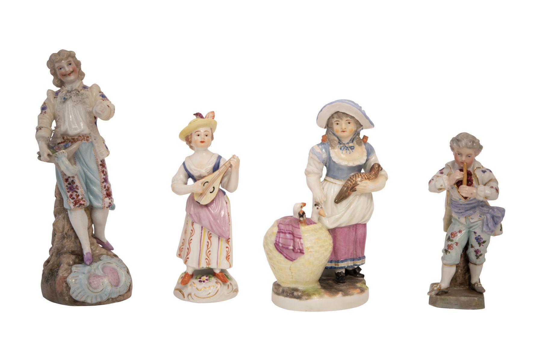 #167 Convolute porcelain figures | Konvolut Porzellanfiguren Image