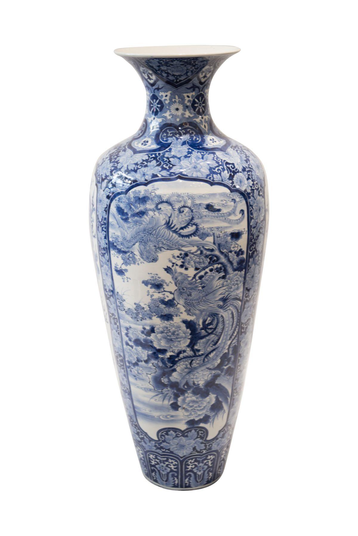 #173 Palace vase   Chinesische Palastvase von imposanter Höhe - 124 cm Image