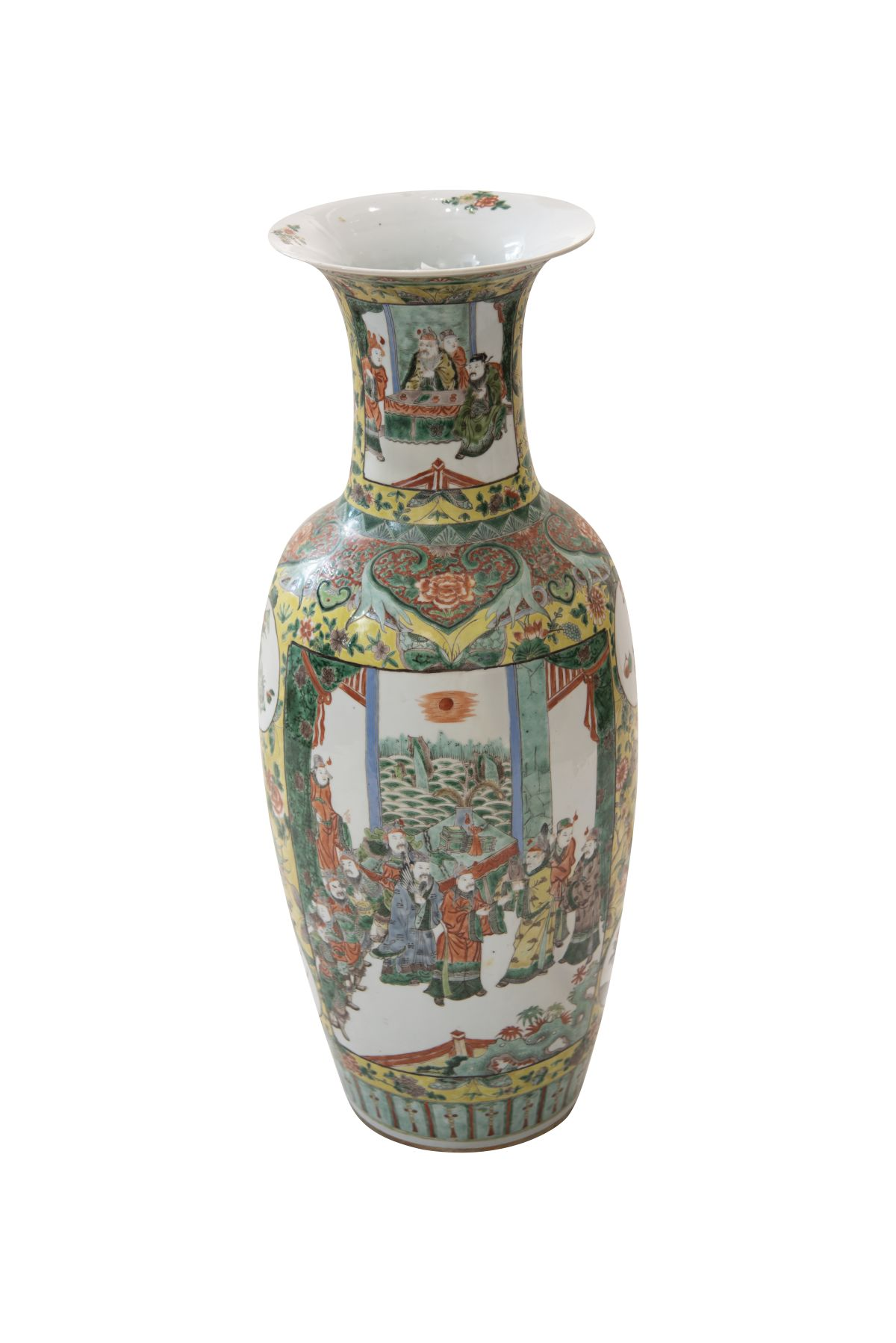#190 Large Chinese vase Qing Dynasty 19th century | Große Chinensische Vase Qing Dynastie 19. Jh Image