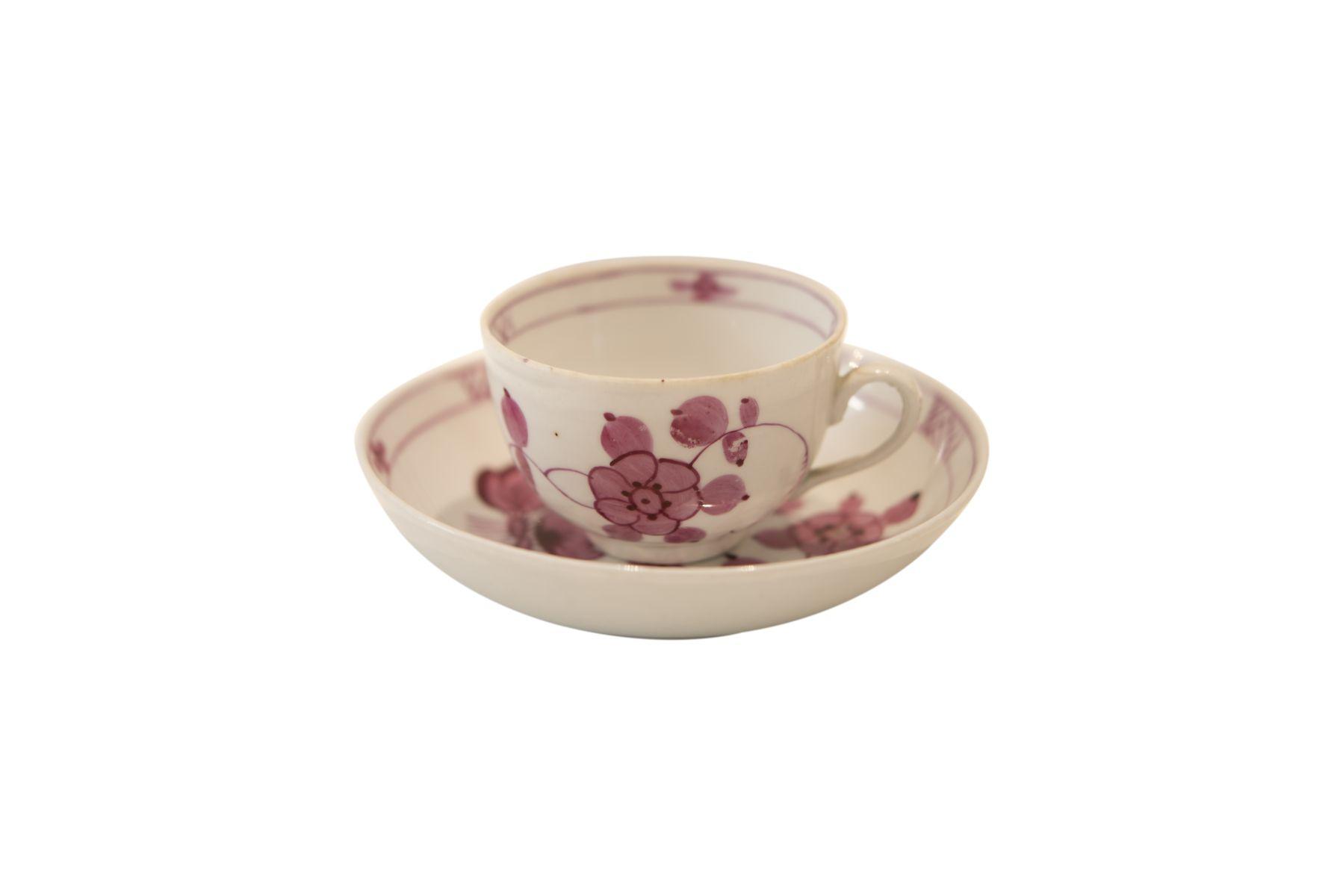 """#224 Reichenau """"Cup with saucer""""   Reichenau """"Tasse mit Untertasse"""" Image"""