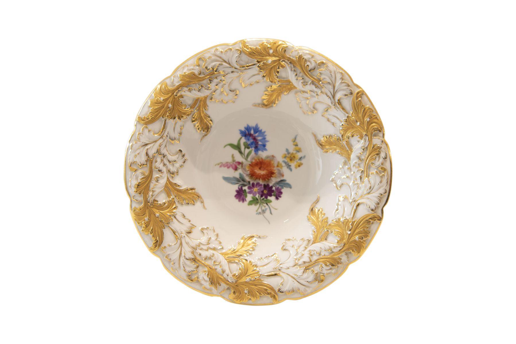 #227 Meissen ceremonial plate | Prunkteller Meissen Image