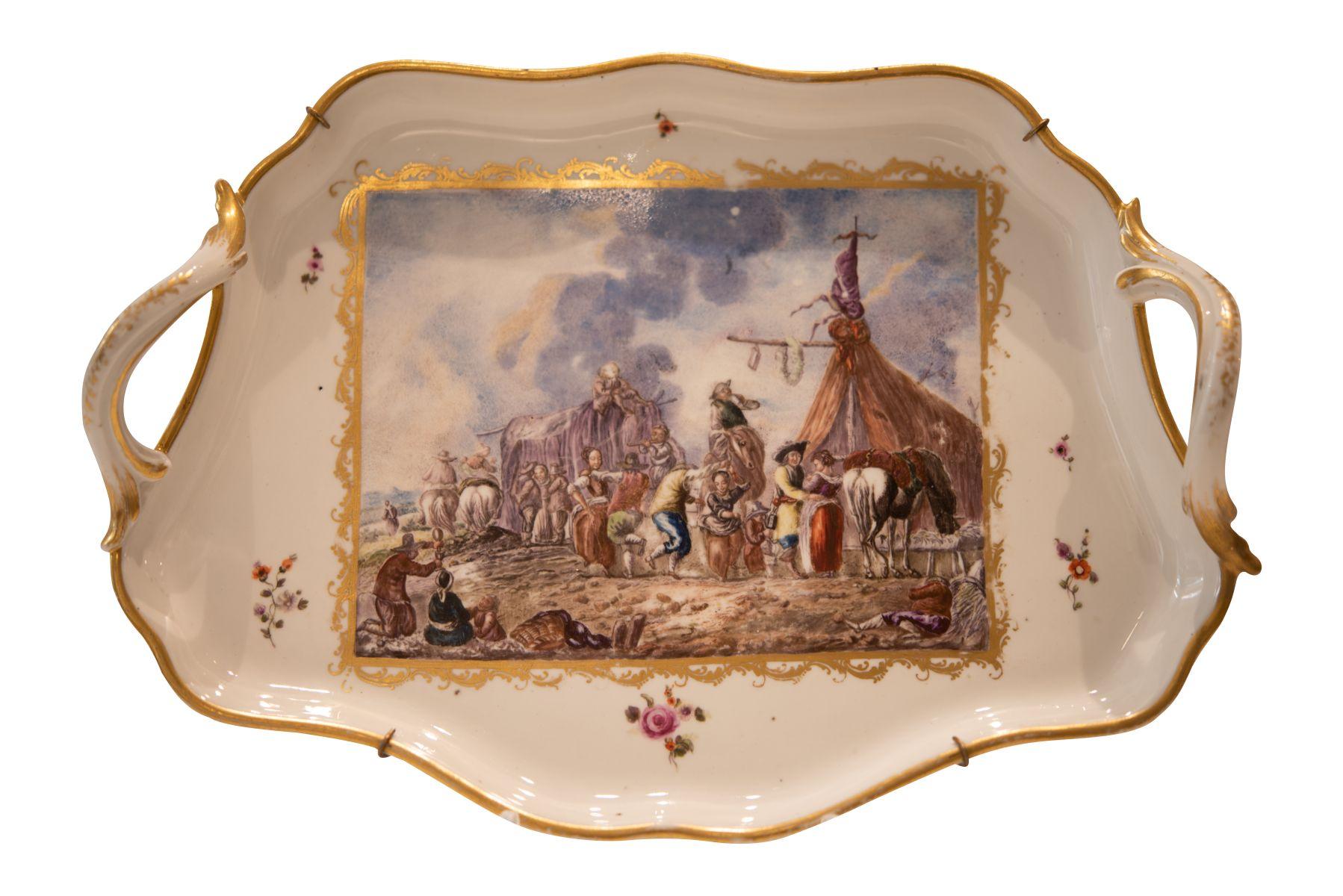 #262 Présentoir Imperial Manufactory Vienna, 2nd half of the 18th century | Presentoir Kaiserliche Manufaktur Wien, 2. Hälfte 18. Jahrhundert Image
