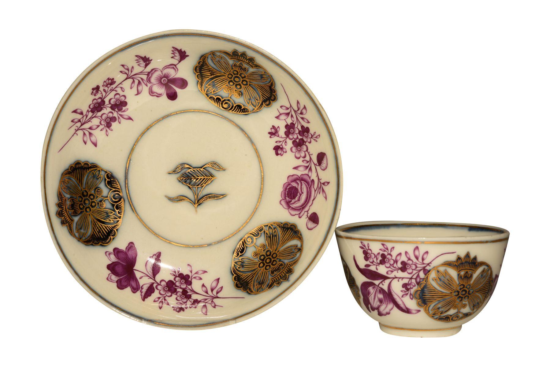 """#63 Coupling with lower shell Meissen 1740   """"Koppchen mit Unterschale"""" Meissen 1740 Image"""