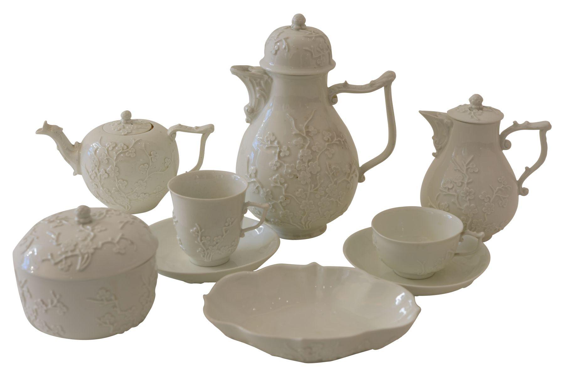 #86 25-piece Meissen coffee and tea service | 25 teiliges Kaffee- und Teeservice Meissen 18. Jahrhundert Image