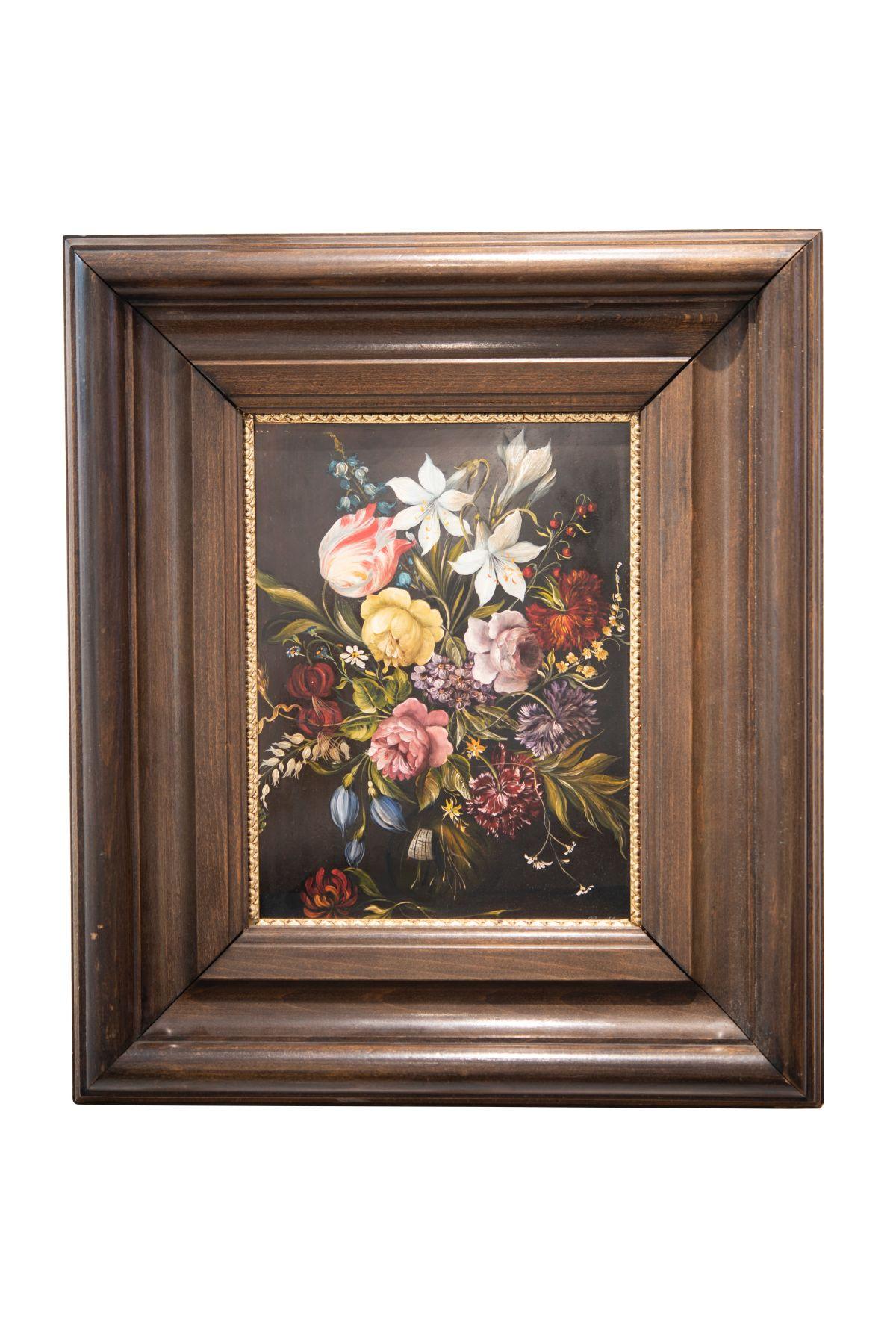 #107 Flower Still Life, 20th C. | Blumenstillleben, 20. Jh. Image